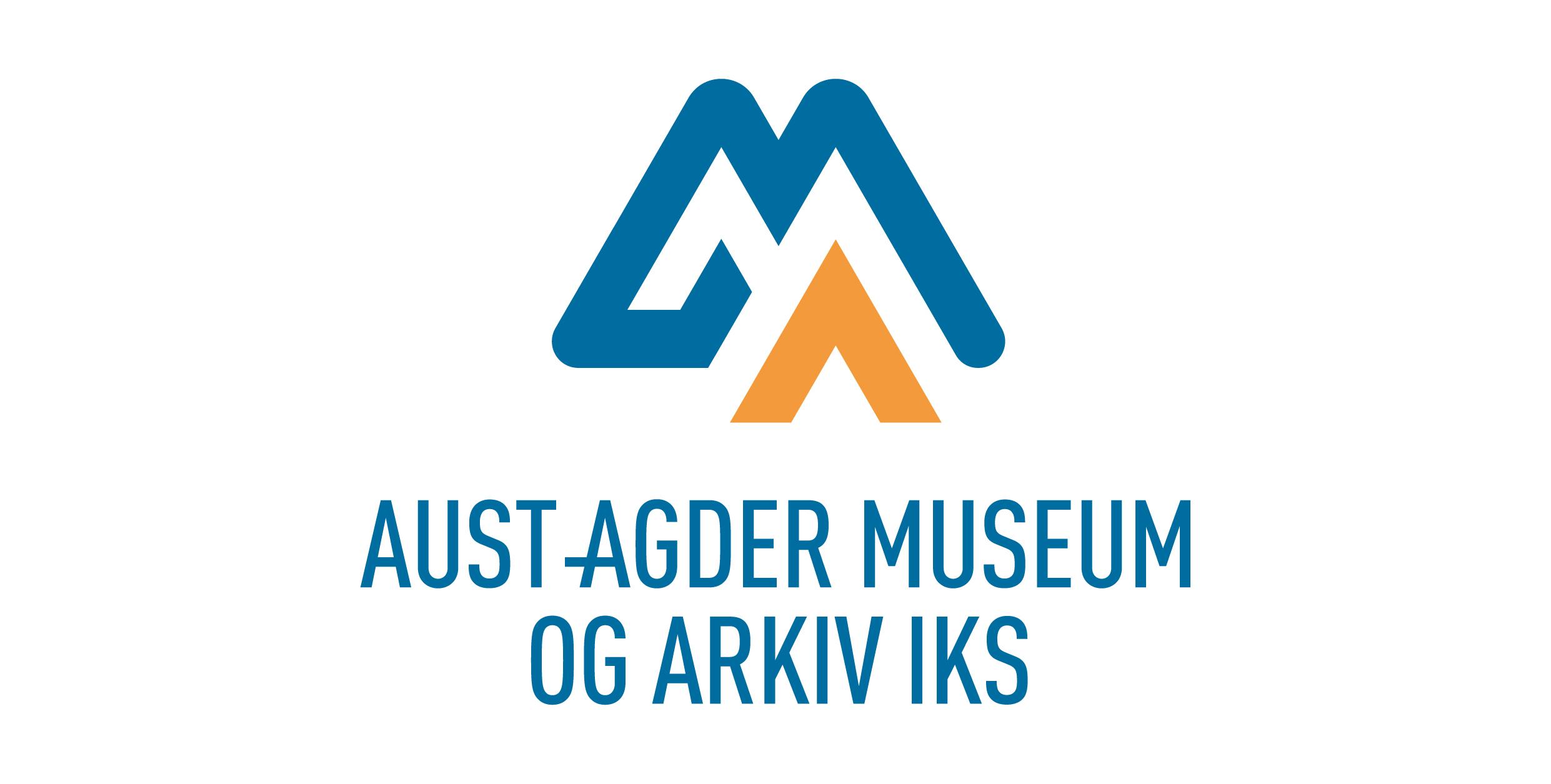 Logo for Aust-Agder museum og arkiv, avd. KUBEN