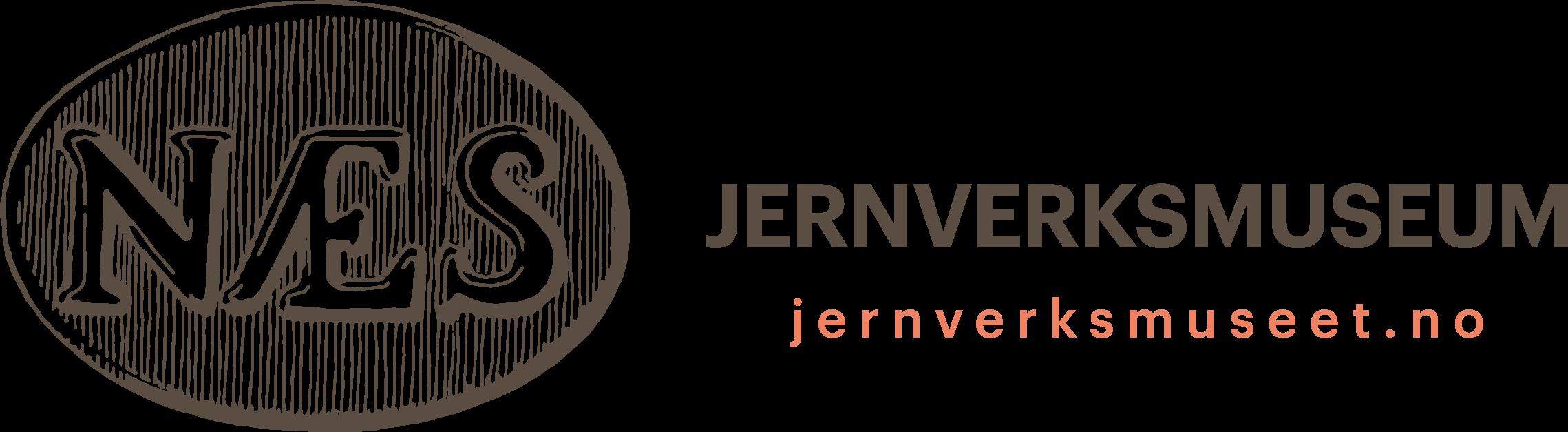 Logo for Stiftelsen Næs jernverksmuseum