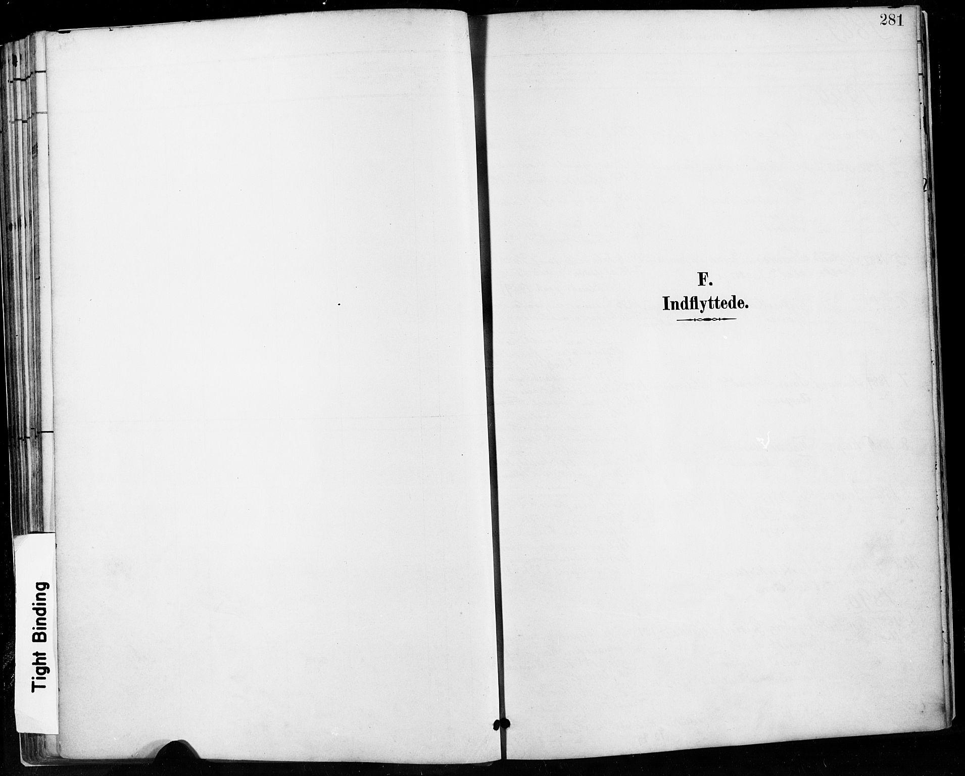 SAST, Høyland sokneprestkontor, 30BA/L0013: Parish register (official) no. A 13.2, 1889-1898, p. 281