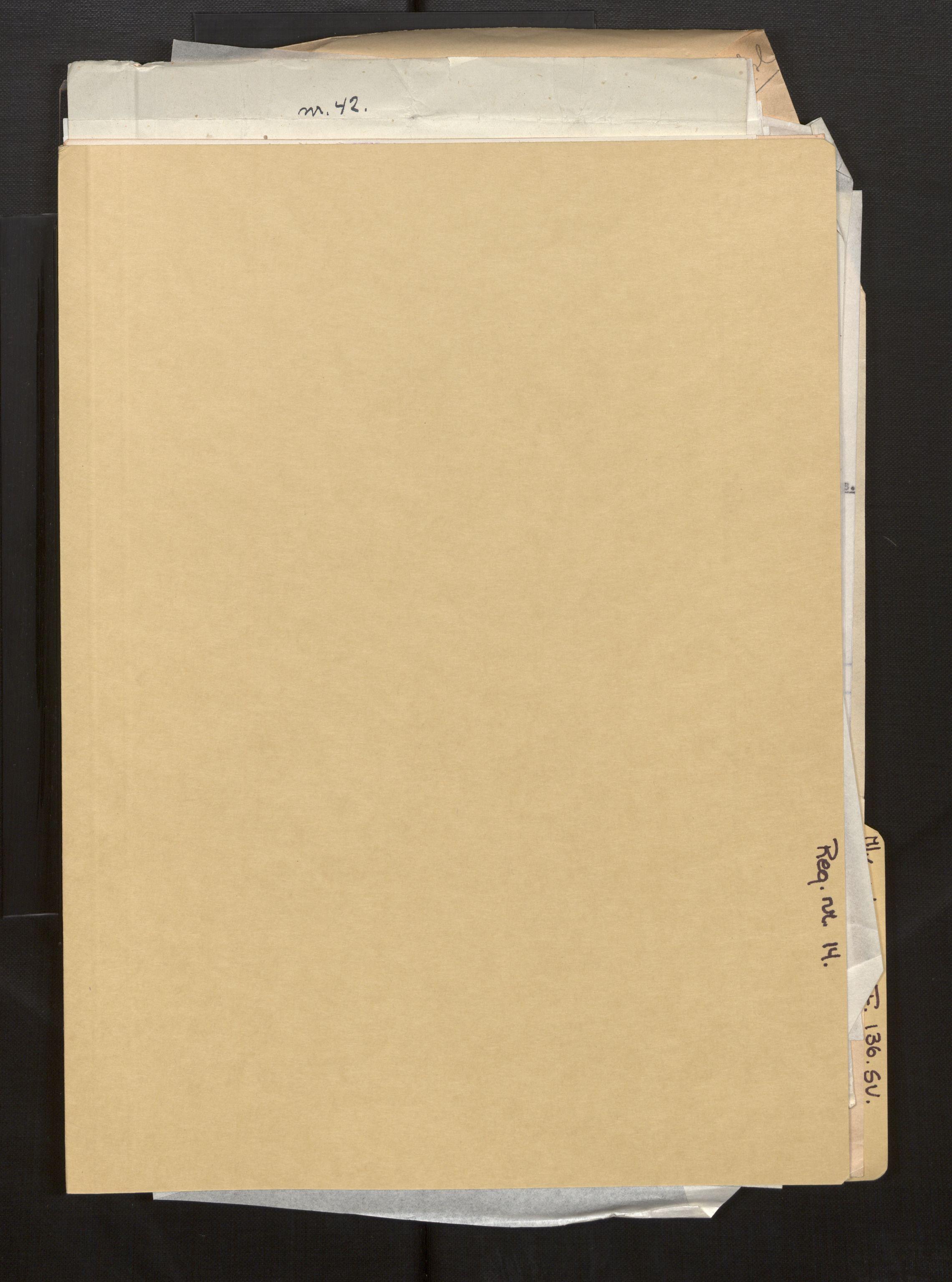 SAB, Fiskeridirektoratet - 1 Adm. ledelse - 13 Båtkontoret, La/L0042: Statens krigsforsikring for fiskeflåten, 1936-1971, p. 599