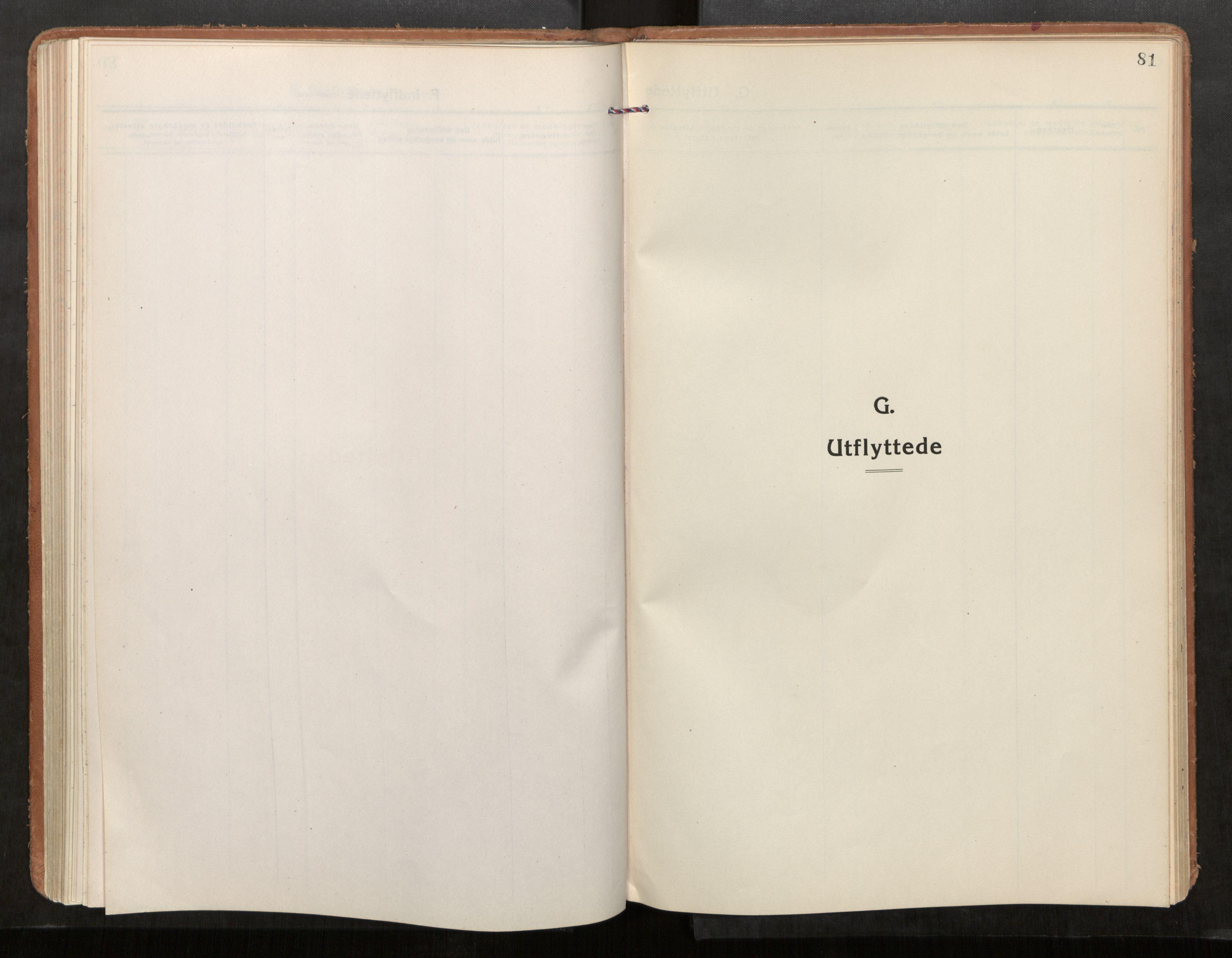SAT, Stod sokneprestkontor, I/I1/I1a/L0005: Parish register (official) no. 5, 1923-1932, p. 81