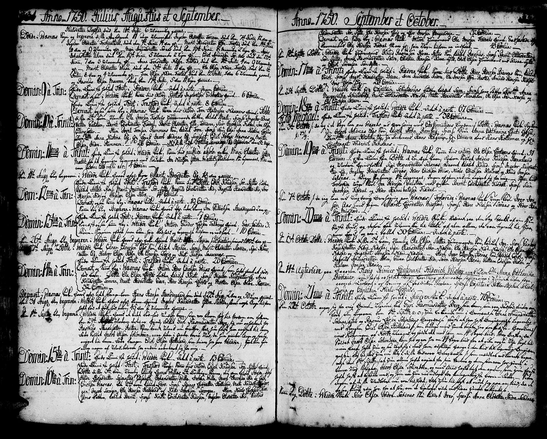 SAT, Ministerialprotokoller, klokkerbøker og fødselsregistre - Møre og Romsdal, 547/L0599: Parish register (official) no. 547A01, 1721-1764, p. 331-332