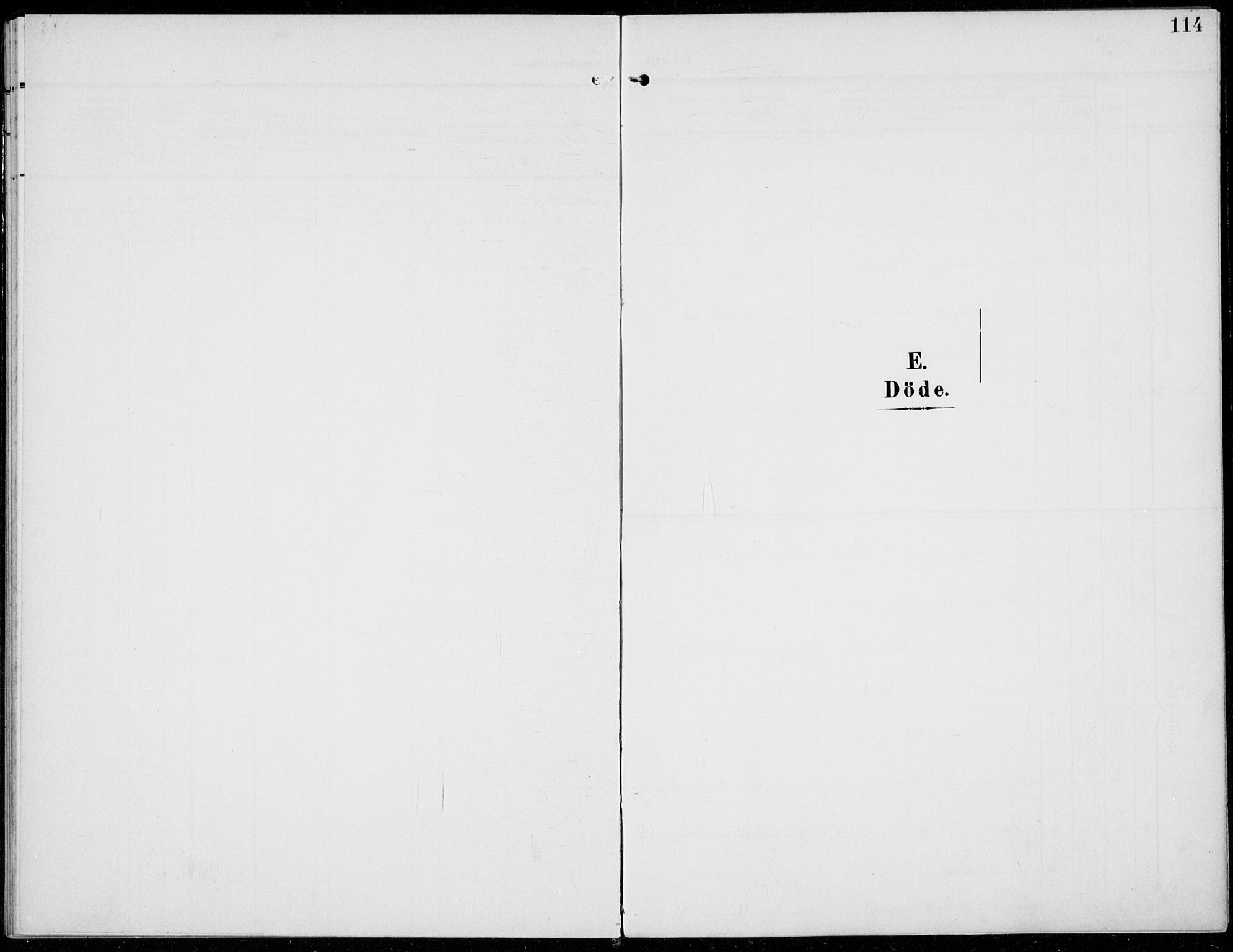 SAH, Sel prestekontor, Parish register (official) no. 1, 1905-1922, p. 114