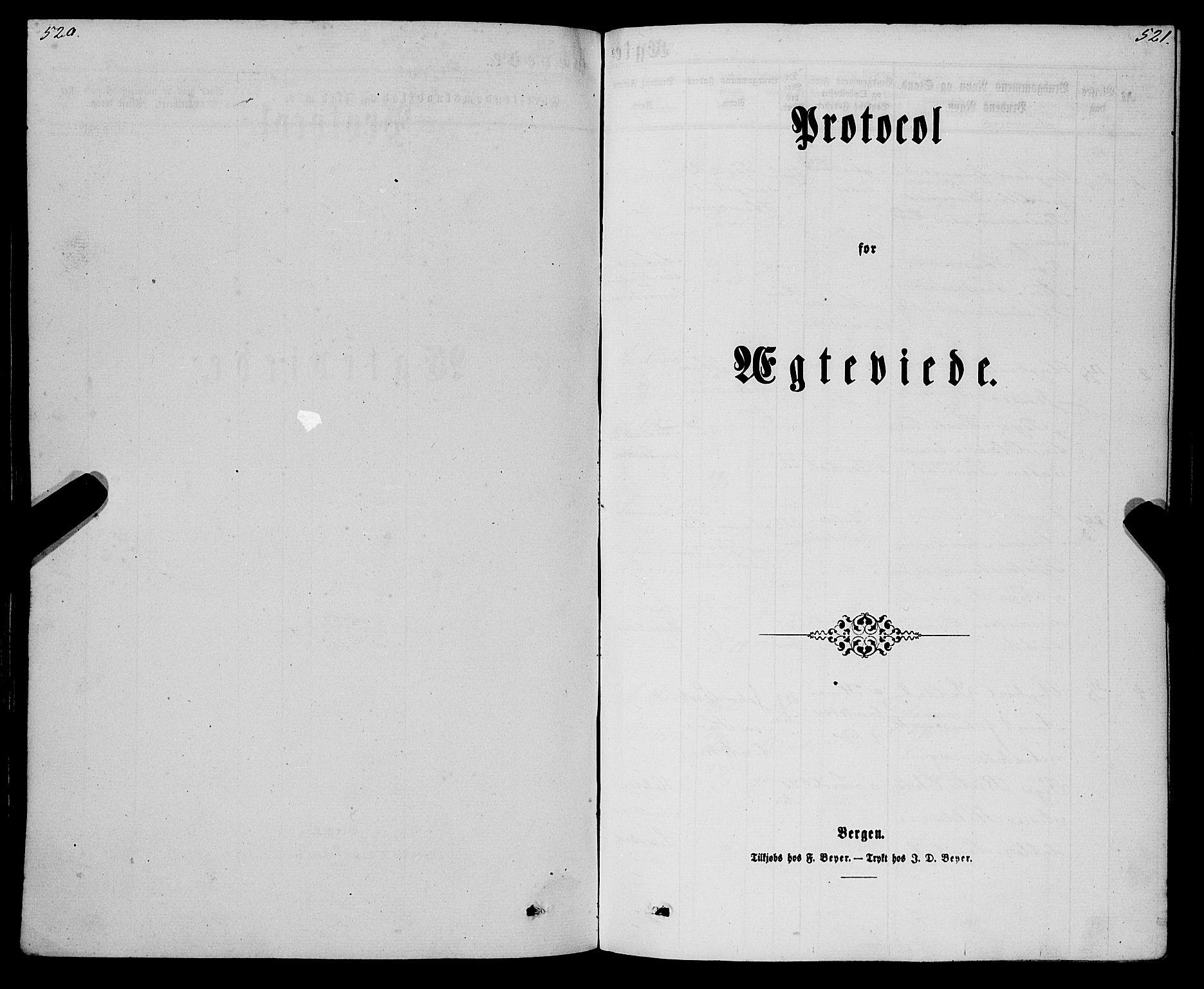 SAB, Eid Sokneprestembete, H/Haa: Parish register (official) no. A 9, 1861-1868, p. 520-521