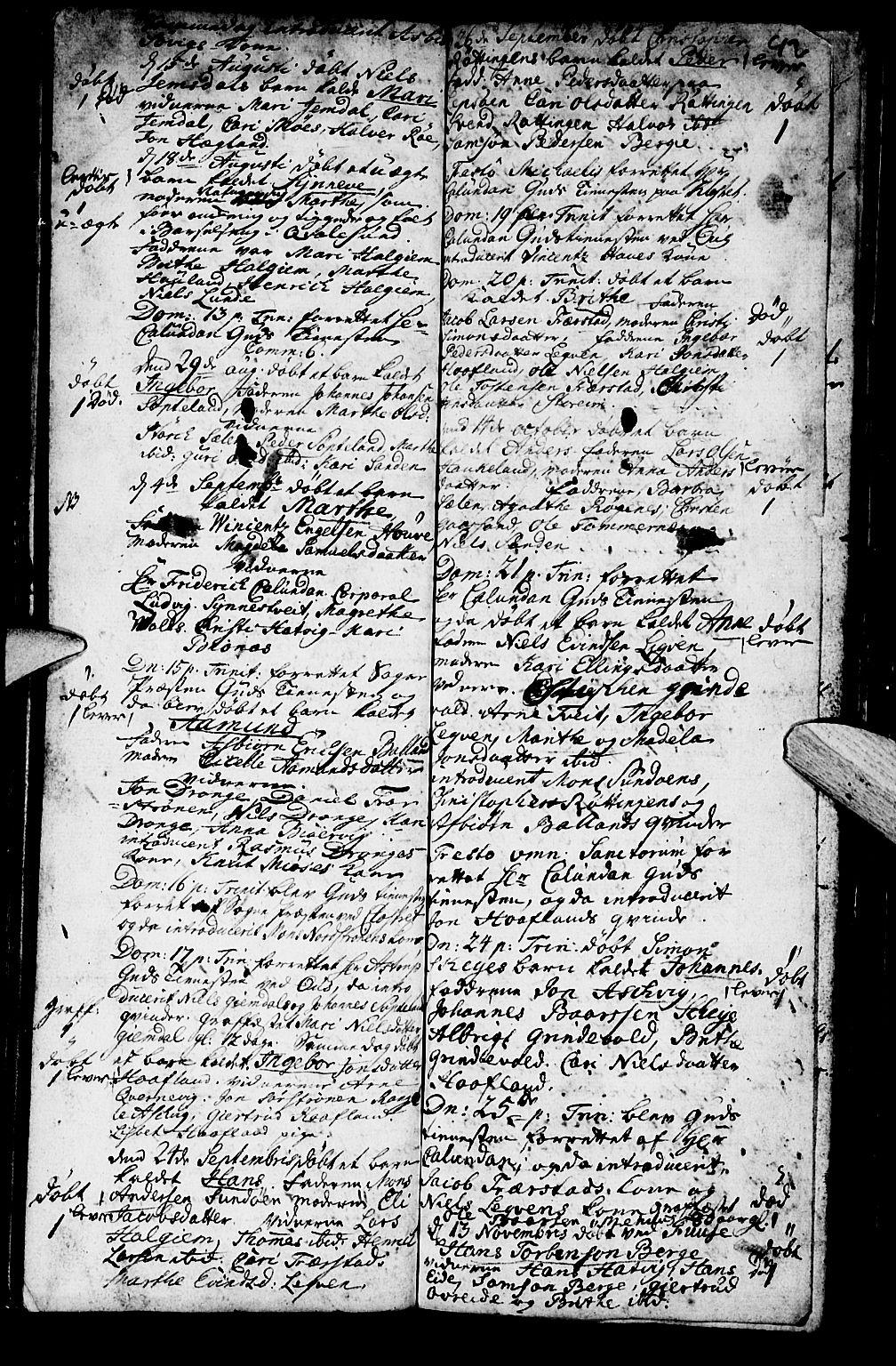 SAB, Os sokneprestembete*, Parish register (official) no. A 2, 1723-1758, p. 92