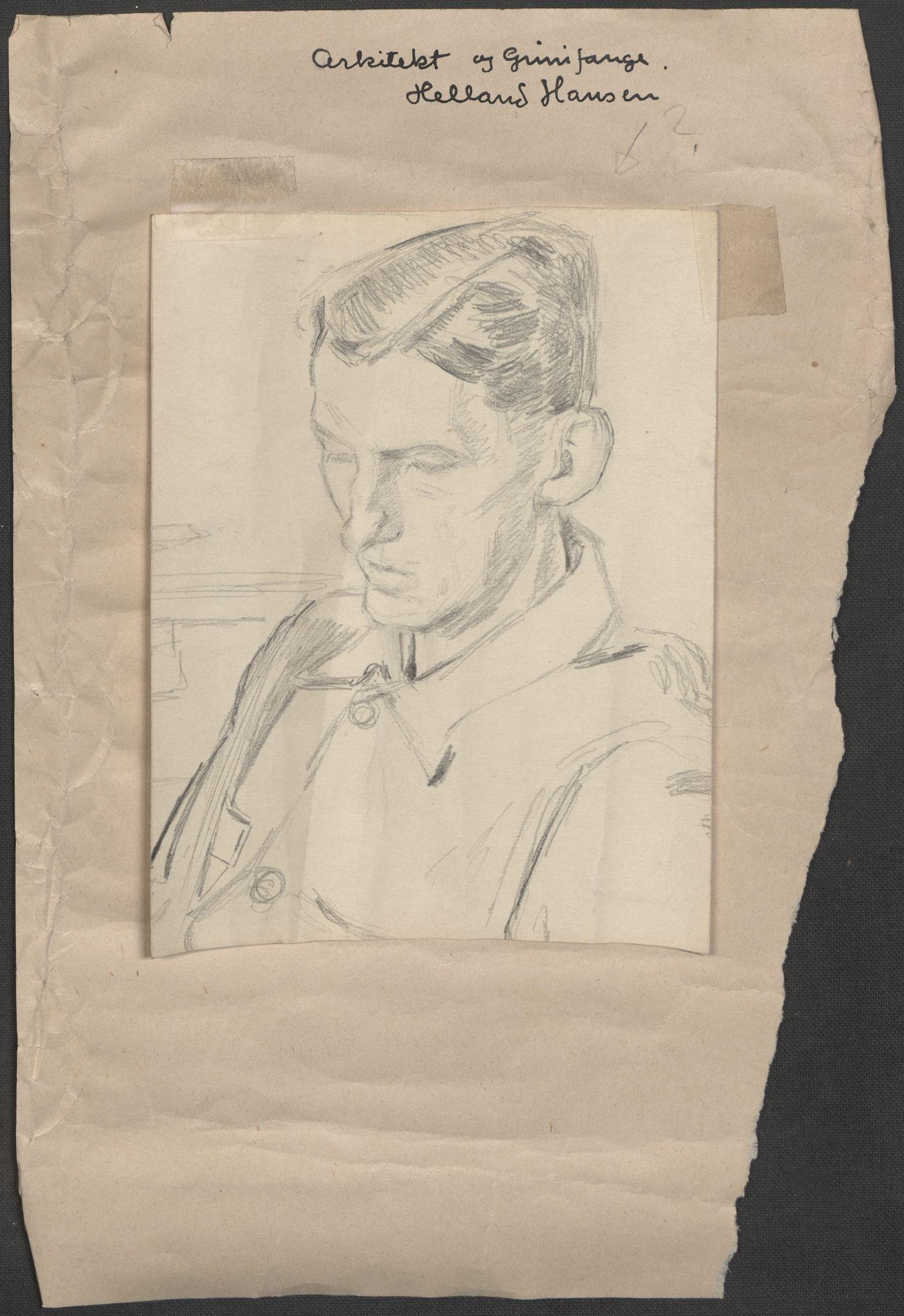 RA, Grøgaard, Joachim, F/L0002: Tegninger og tekster, 1942-1945, p. 30