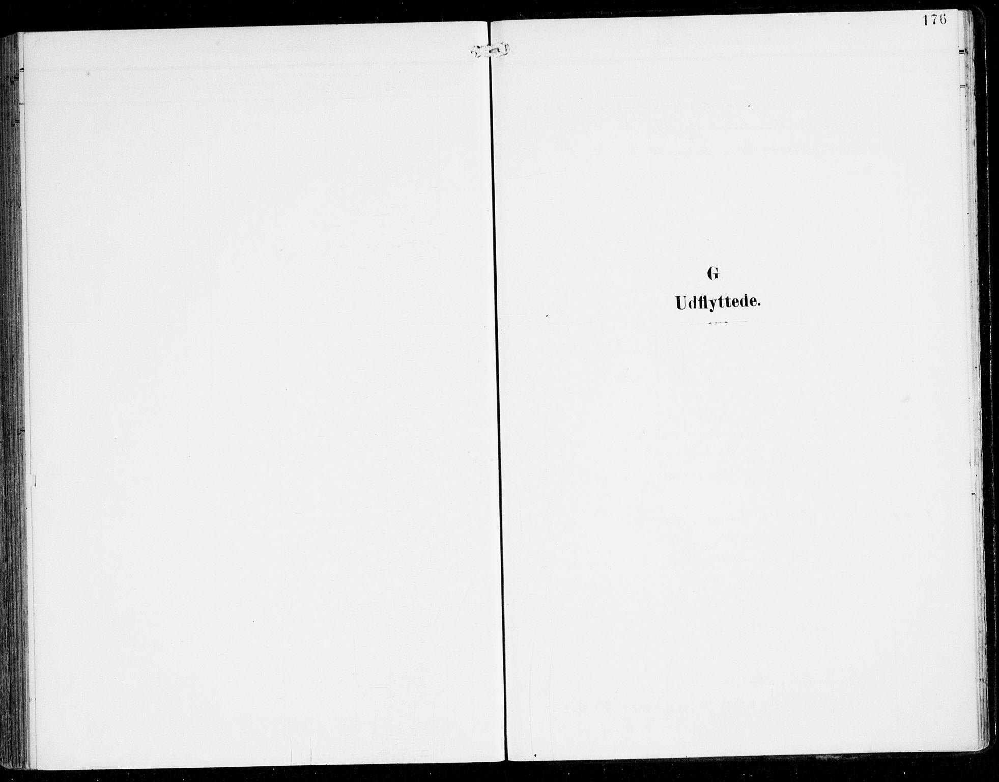 SAB, Alversund Sokneprestembete, H/Ha/Haa/Haac/L0002: Parish register (official) no. C 2, 1901-1921, p. 176