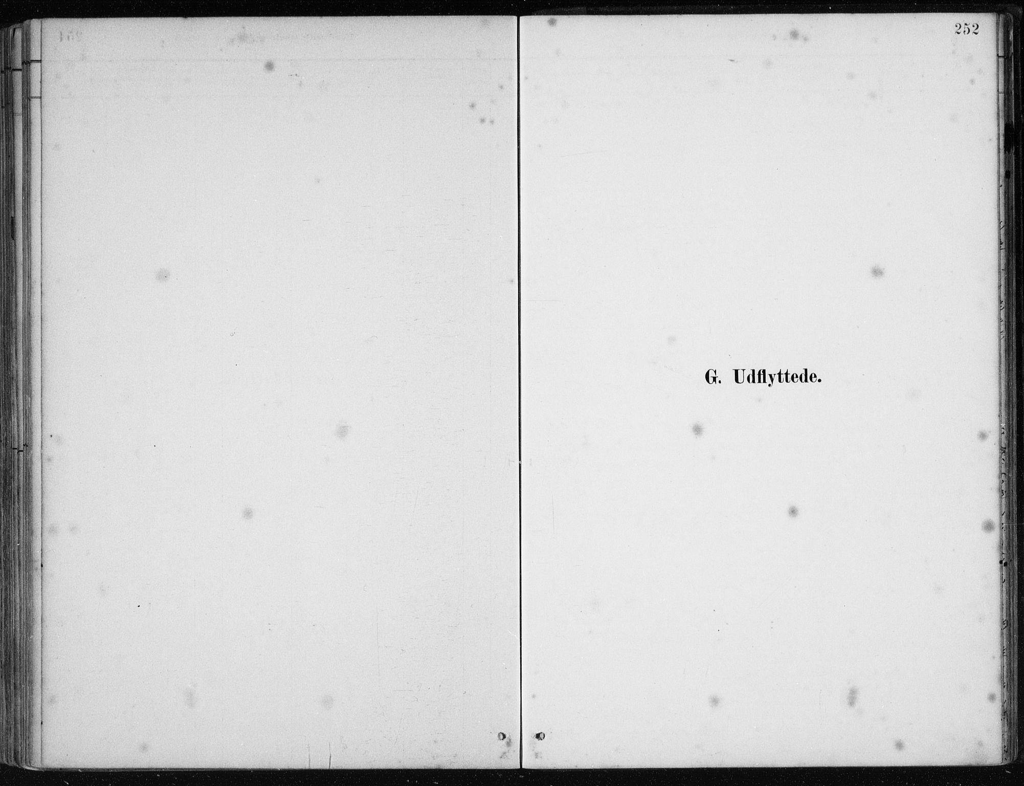 SAB, Os sokneprestembete*, Parish register (official) no. B 1, 1885-1902, p. 252