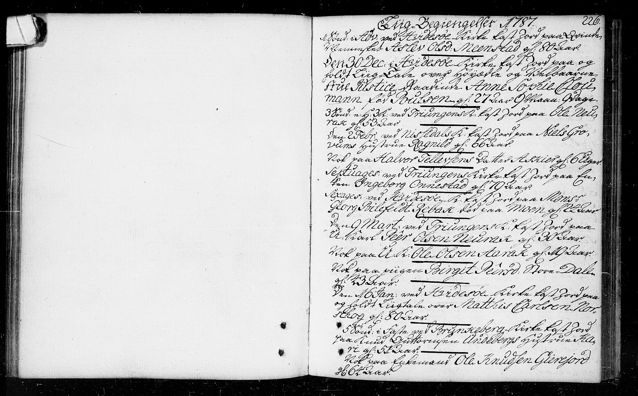 SAKO, Kviteseid kirkebøker, F/Fa/L0003: Parish register (official) no. I 3, 1787-1799, p. 226