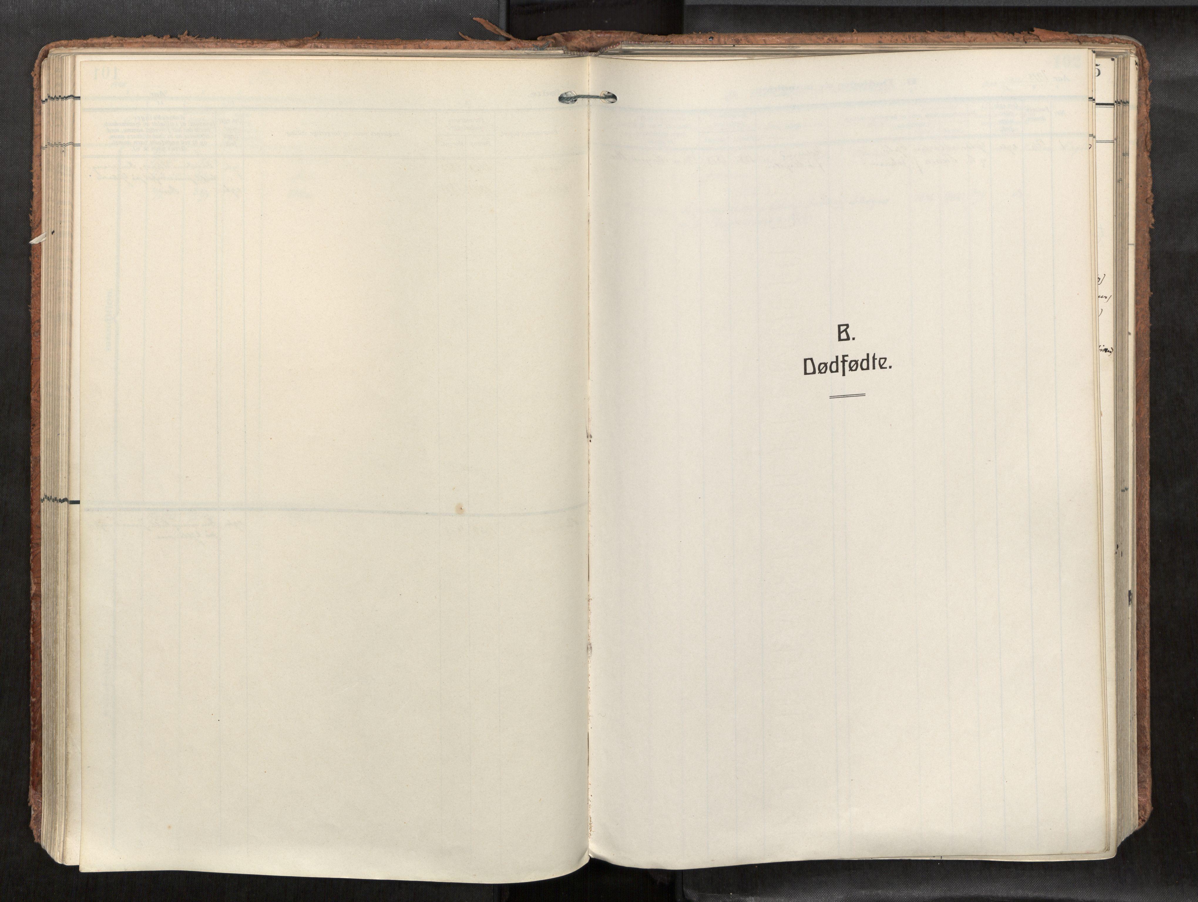 SAT, Levanger sokneprestkontor*, Parish register (official) no. 1, 1912-1935