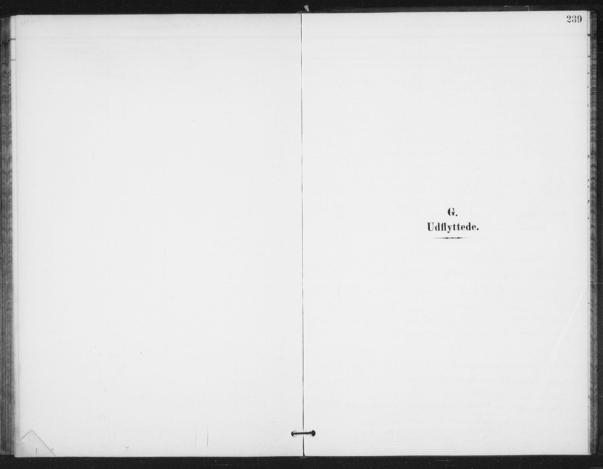 SAT, Ministerialprotokoller, klokkerbøker og fødselsregistre - Sør-Trøndelag, 658/L0723: Parish register (official) no. 658A02, 1897-1912, p. 239