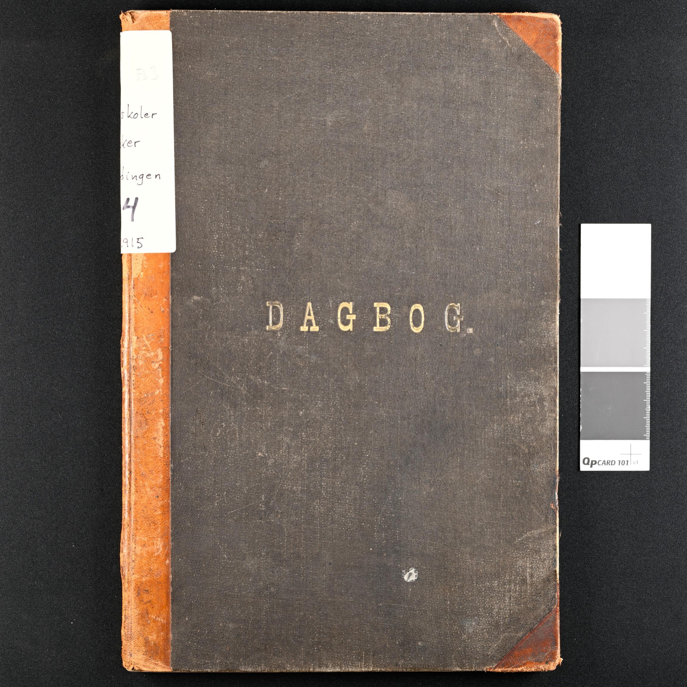 IKAO, Eidsberg kommune, Kirkefjerdingen skole, Dagbok, 1901-1915, nr 4, 1901-1915