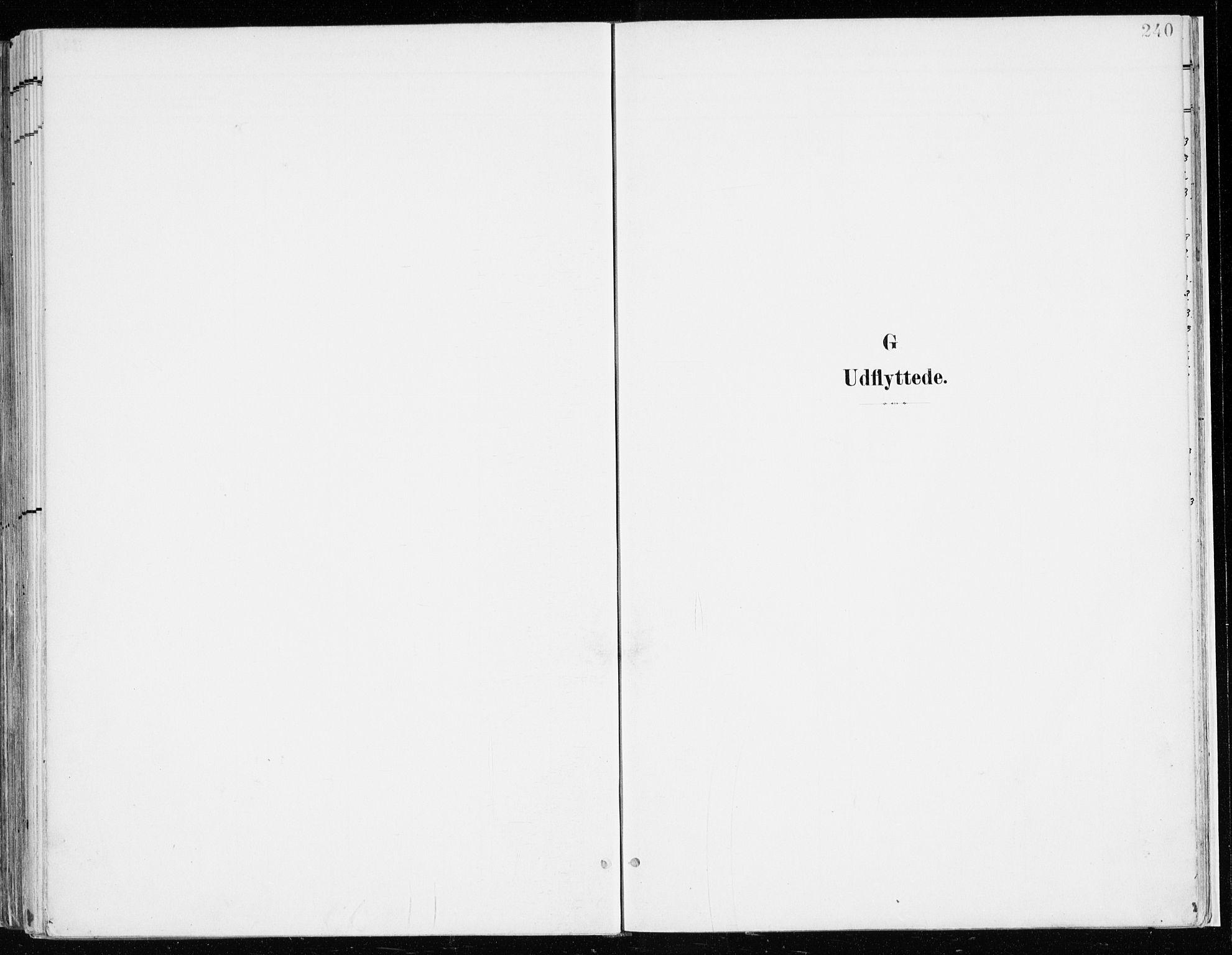 SAH, Nord-Odal prestekontor, Parish register (official) no. 9, 1902-1926, p. 240