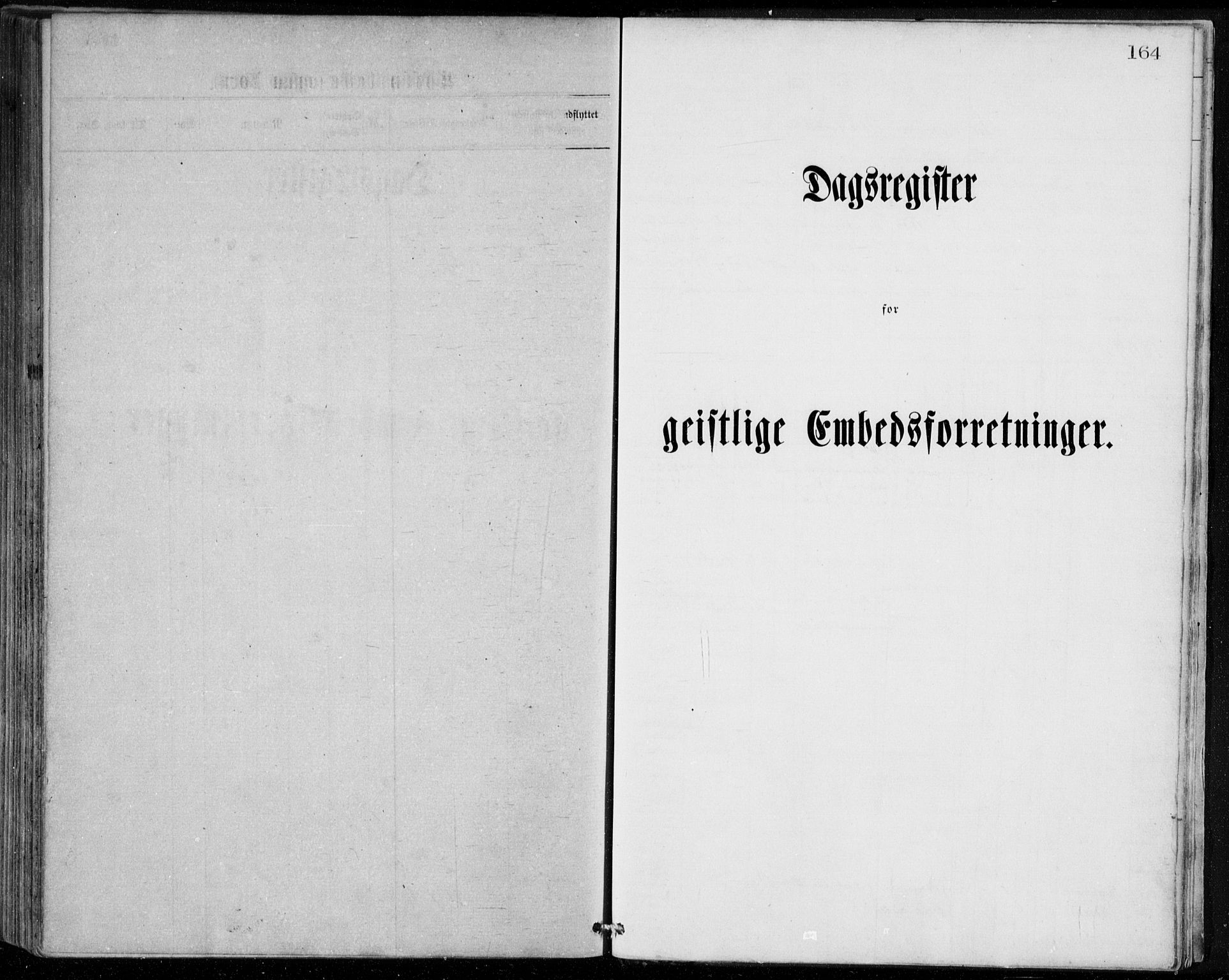 SAB, Herdla Sokneprestembete, H/Haa: Parish register (official) no. A 2, 1869-1877, p. 164