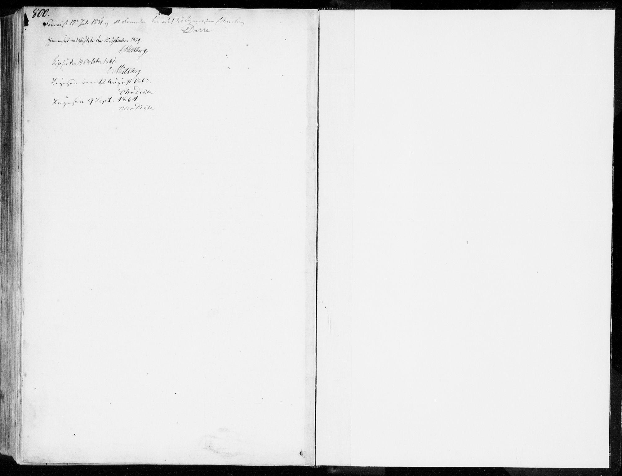 SAT, Ministerialprotokoller, klokkerbøker og fødselsregistre - Møre og Romsdal, 557/L0680: Parish register (official) no. 557A02, 1843-1869, p. 800