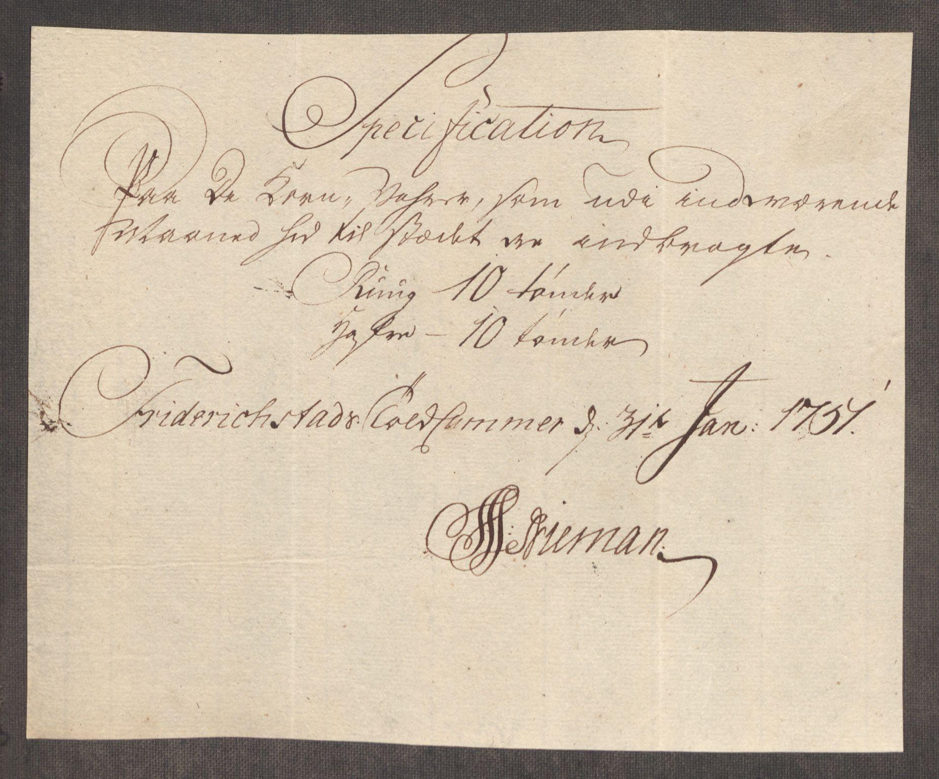 RA, Rentekammeret inntil 1814, Realistisk ordnet avdeling, Oe/L0004: [Ø1]: Priskuranter, 1749-1752, p. 472