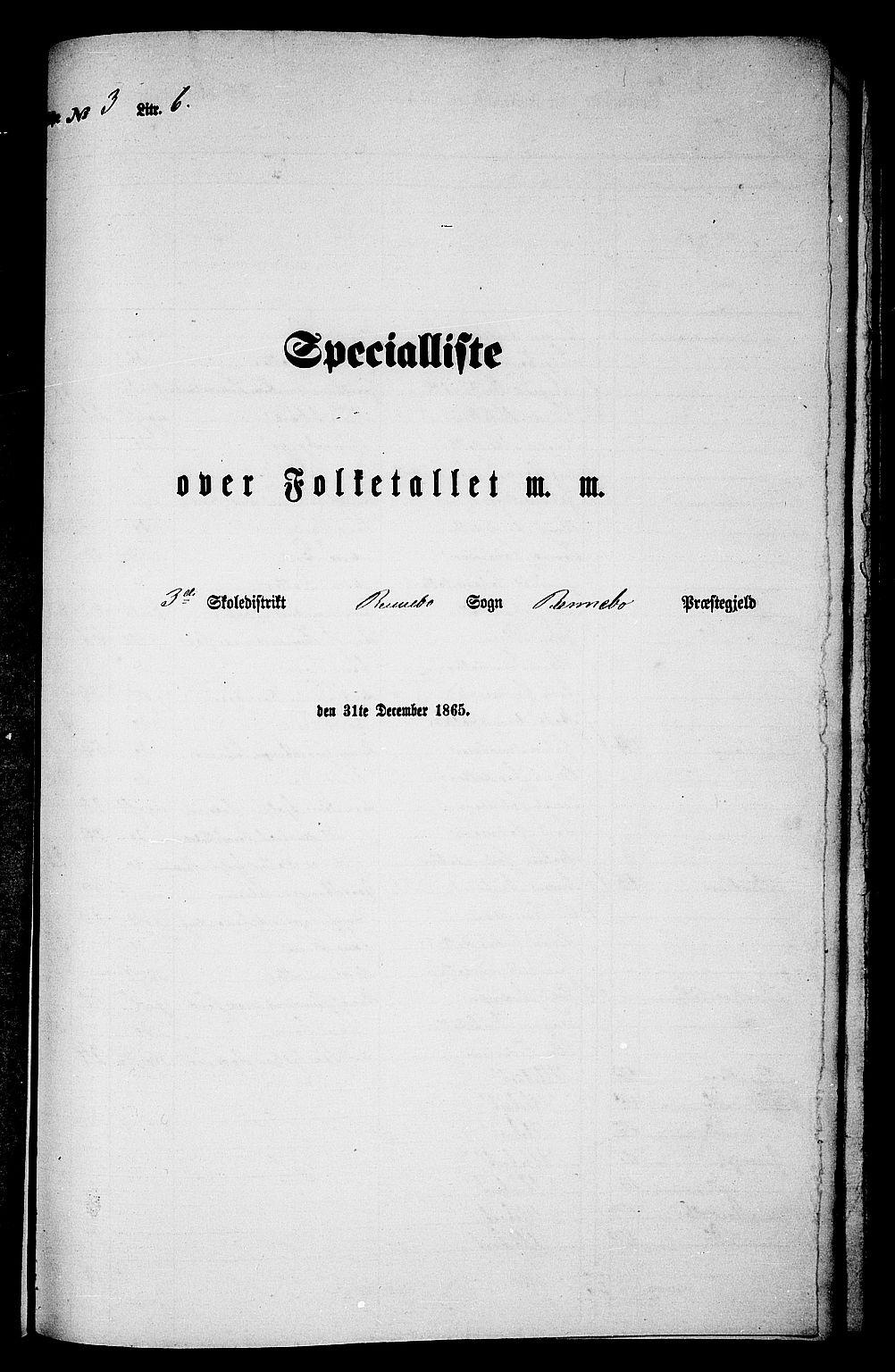 RA, 1865 census for Rennebu, 1865, p. 53