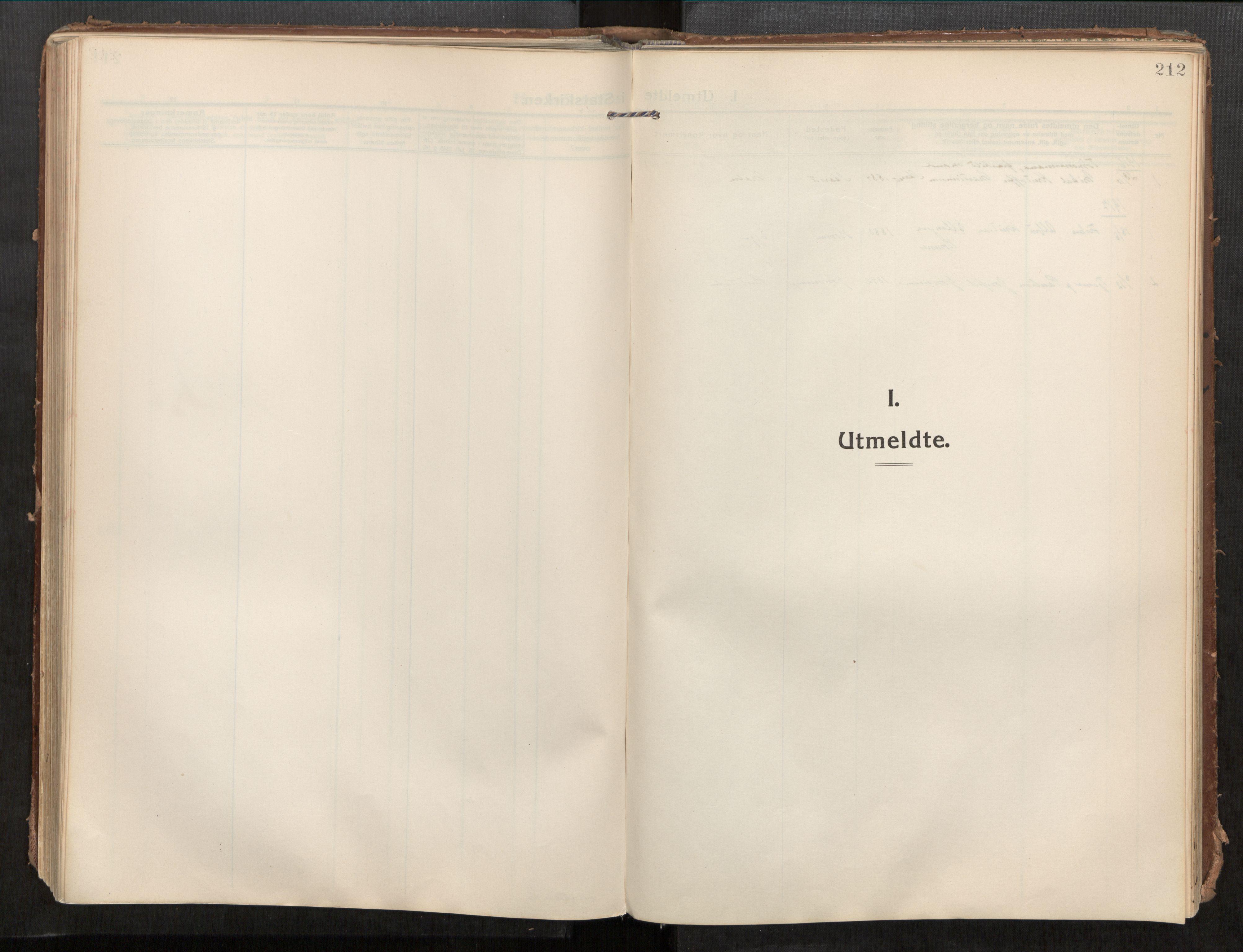 SAT, Beitstad sokneprestkontor, I/I1/I1a/L0001: Parish register (official) no. 1, 1912-1927, p. 212
