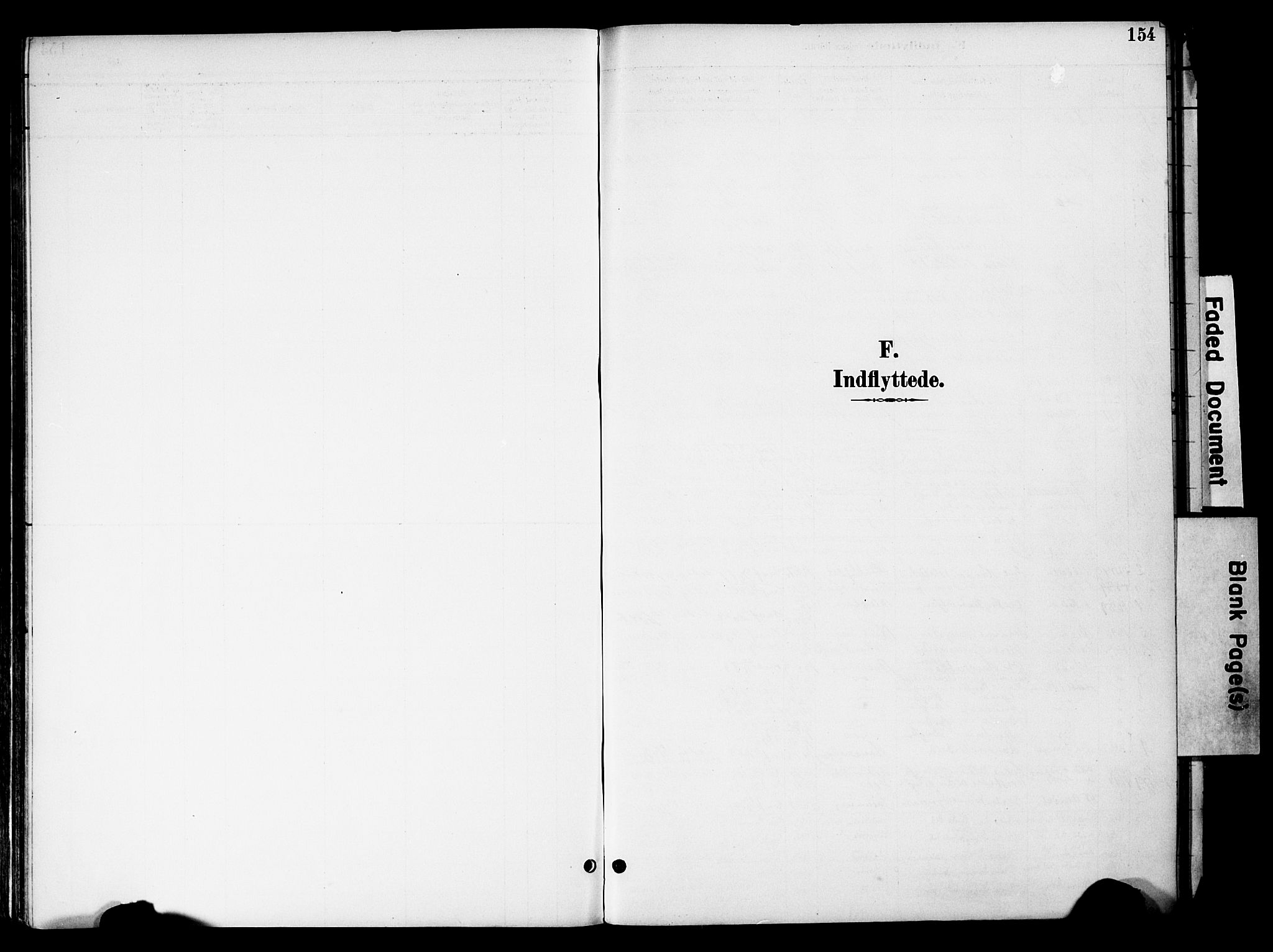 SAH, Gran prestekontor, Parish register (official) no. 20, 1889-1899, p. 154