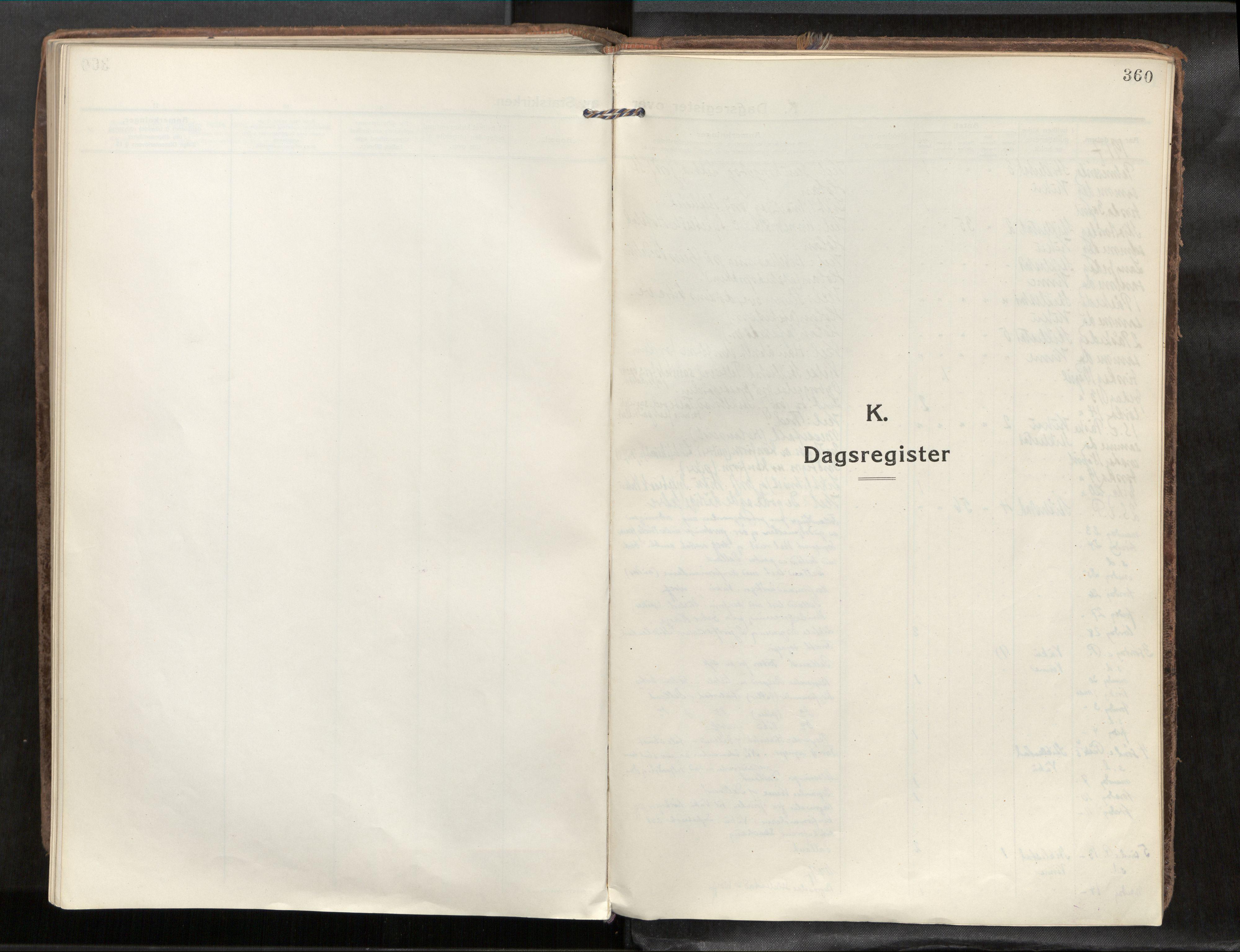 SAT, Verdal sokneprestkontor*, Parish register (official) no. 1, 1917-1932, p. 360