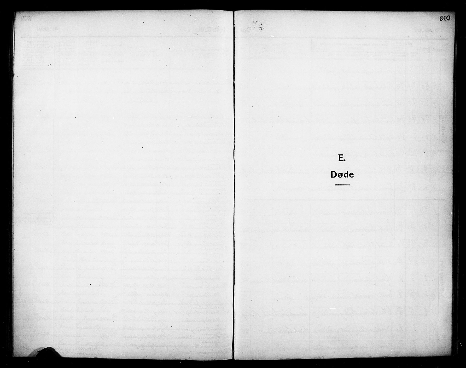 SAH, Lillehammer prestekontor, H/Ha/Hab/L0002: Parish register (copy) no. 2, 1913-1929, p. 303
