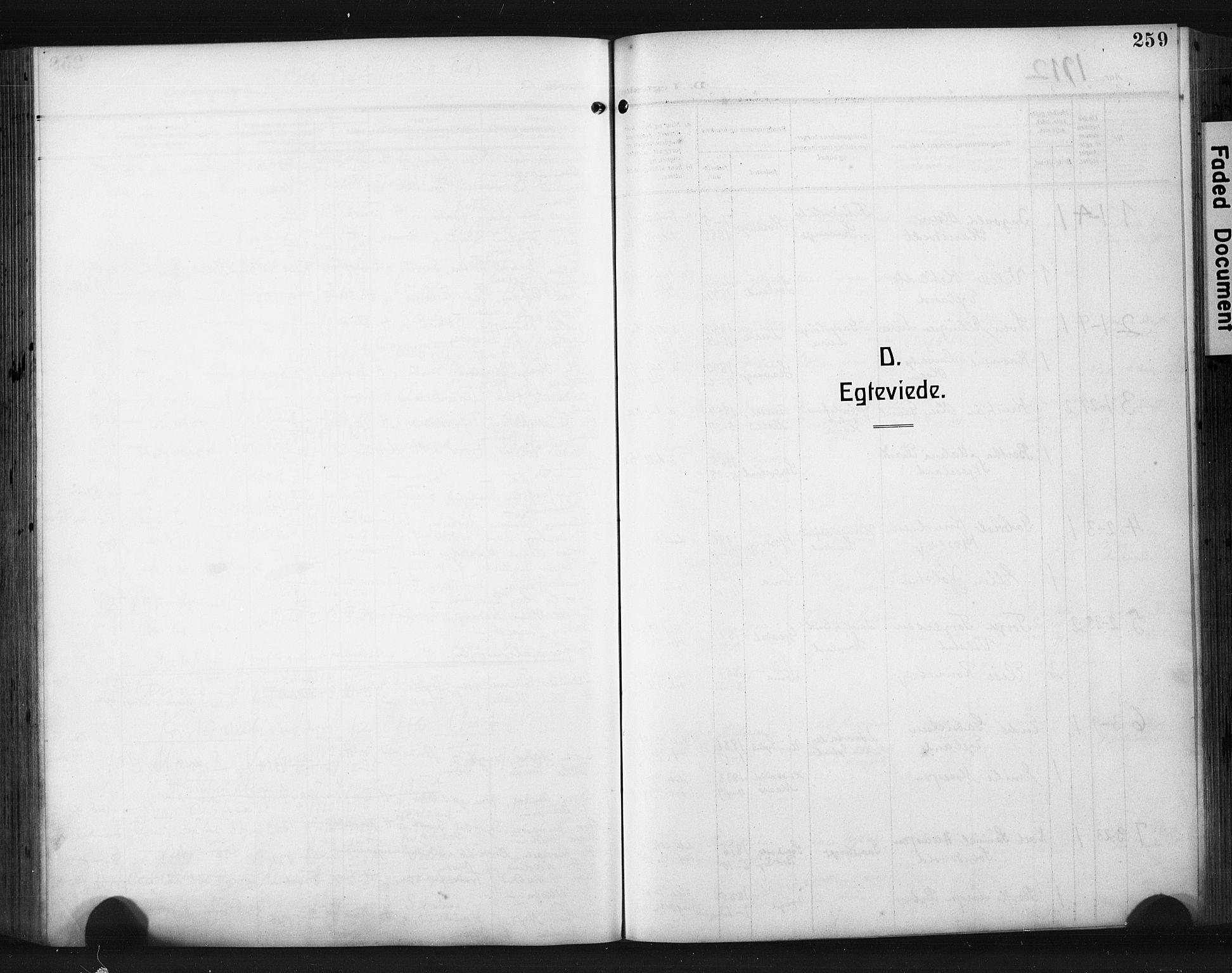 SAST, Høyland sokneprestkontor, 30BA/L0017: Parish register (official) no. A 15, 1912-1924, p. 259
