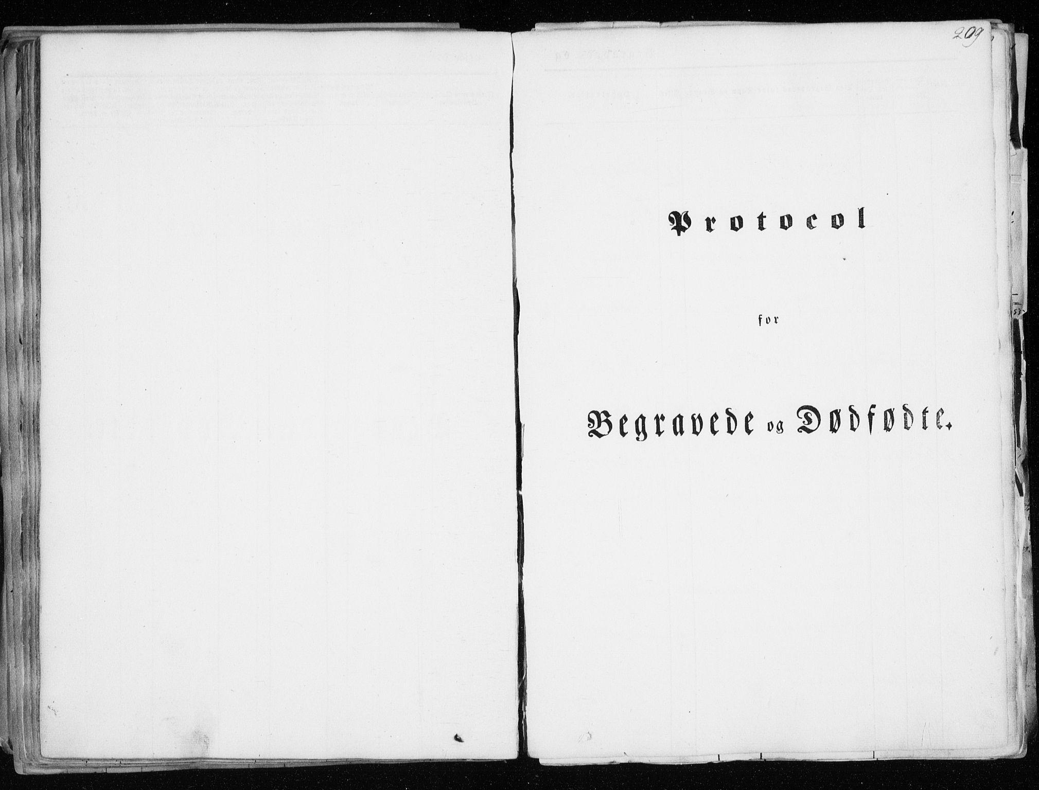 SATØ, Tranøy sokneprestkontor, I/Ia/Iaa/L0006kirke: Parish register (official) no. 6, 1844-1855, p. 209