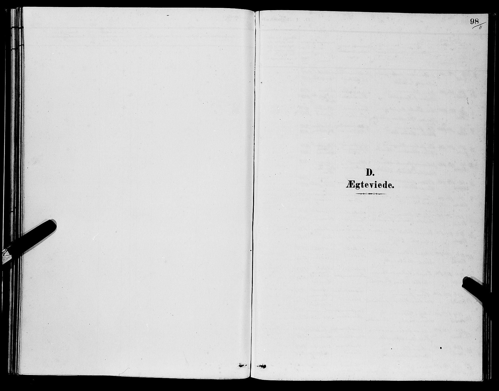 SAB, Os sokneprestembete*, Parish register (copy) no. A 2, 1880-1896, p. 98