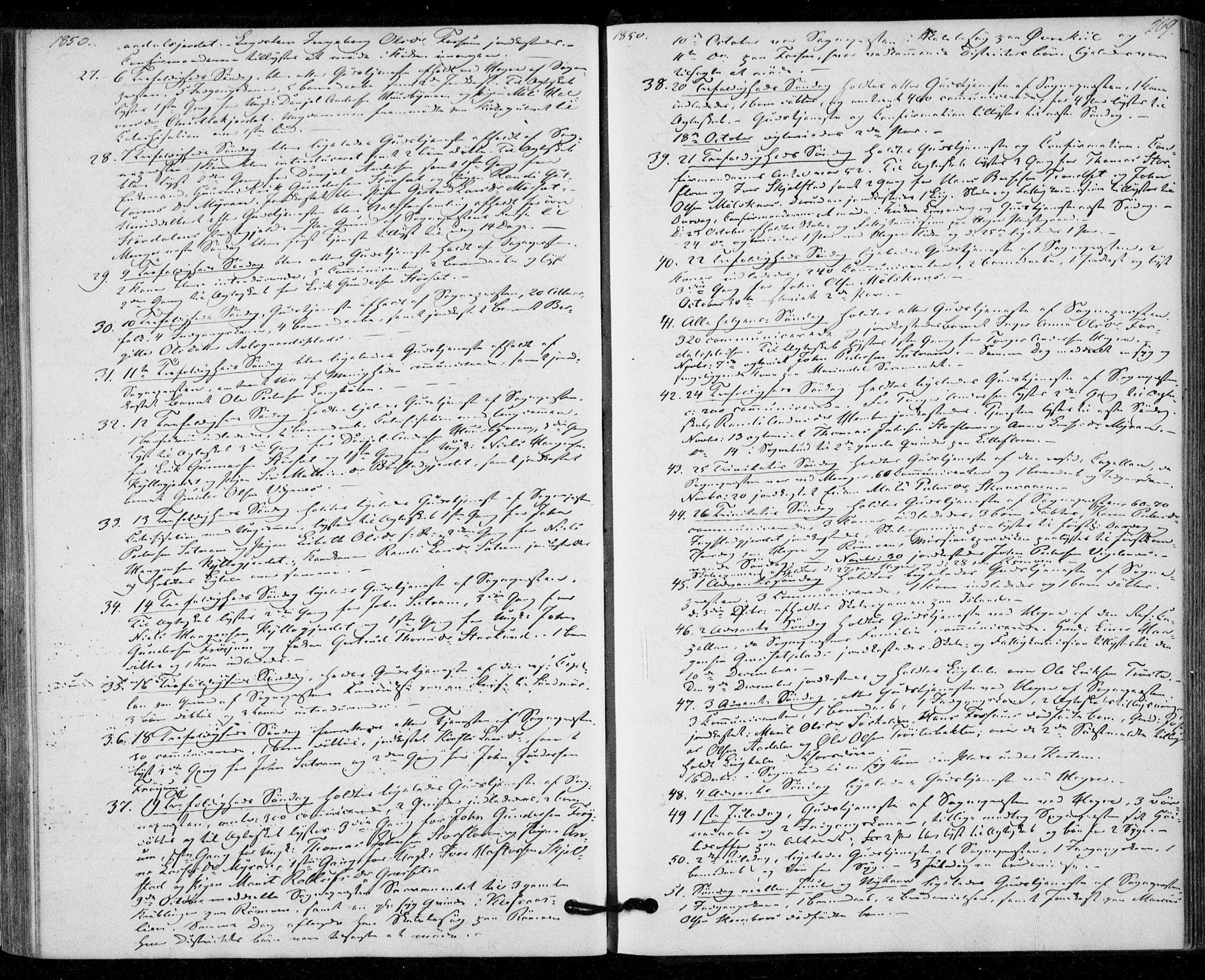 SAT, Ministerialprotokoller, klokkerbøker og fødselsregistre - Nord-Trøndelag, 703/L0028: Parish register (official) no. 703A01, 1850-1862, p. 209