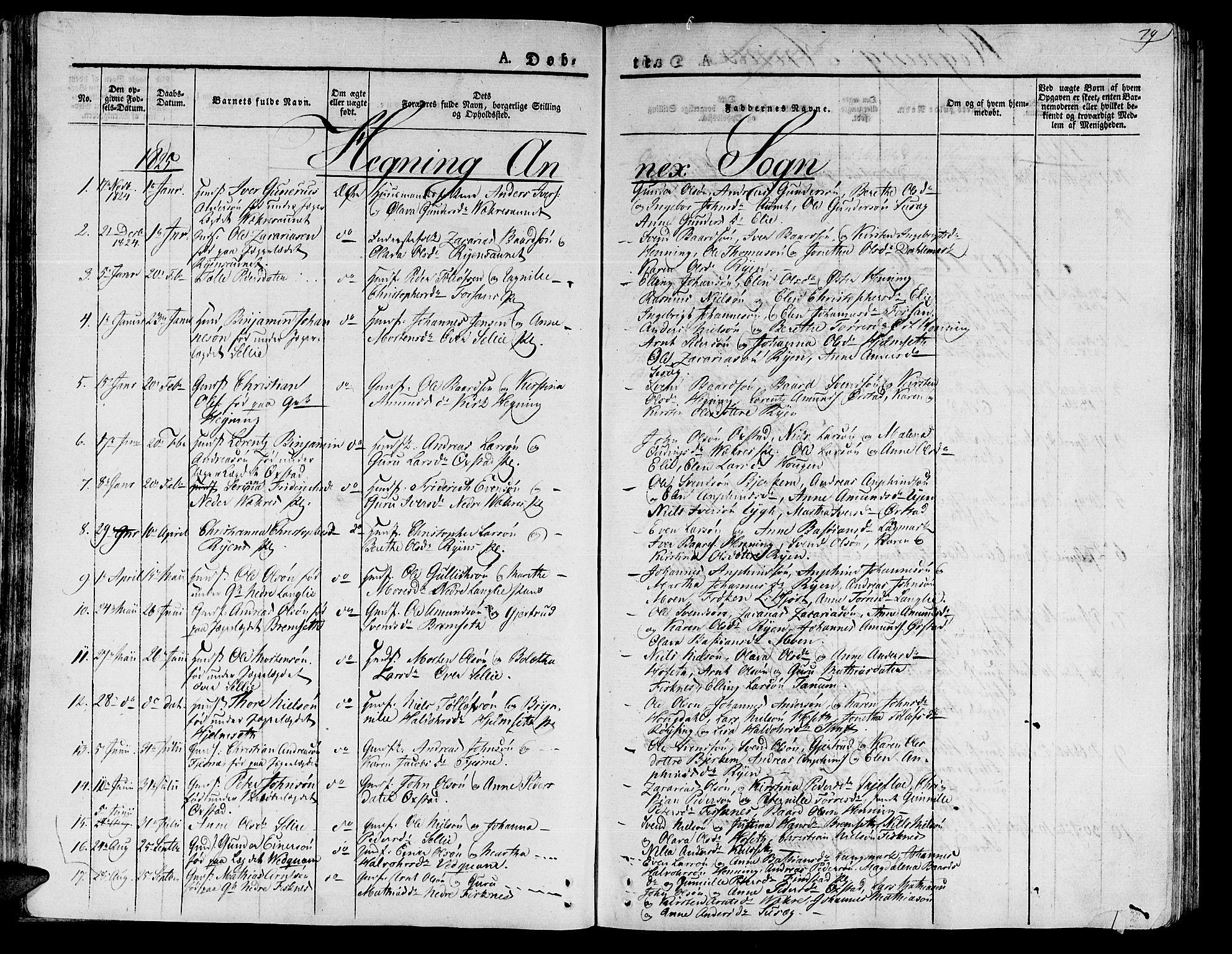 SAT, Ministerialprotokoller, klokkerbøker og fødselsregistre - Nord-Trøndelag, 735/L0336: Parish register (official) no. 735A05 /3, 1825-1835, p. 79