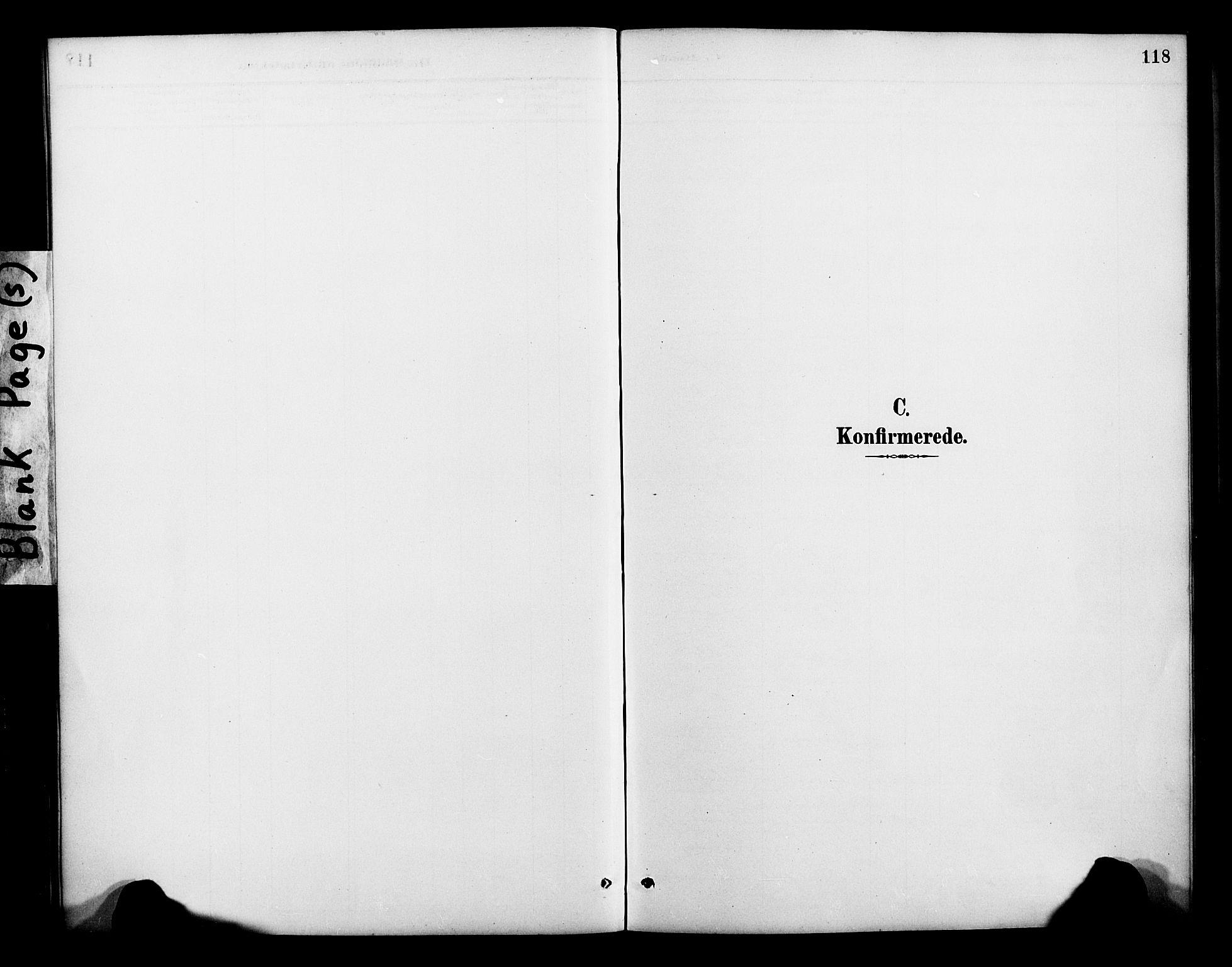 SATØ, Lenvik sokneprestembete, H/Ha: Parish register (official) no. 13, 1890-1898, p. 118