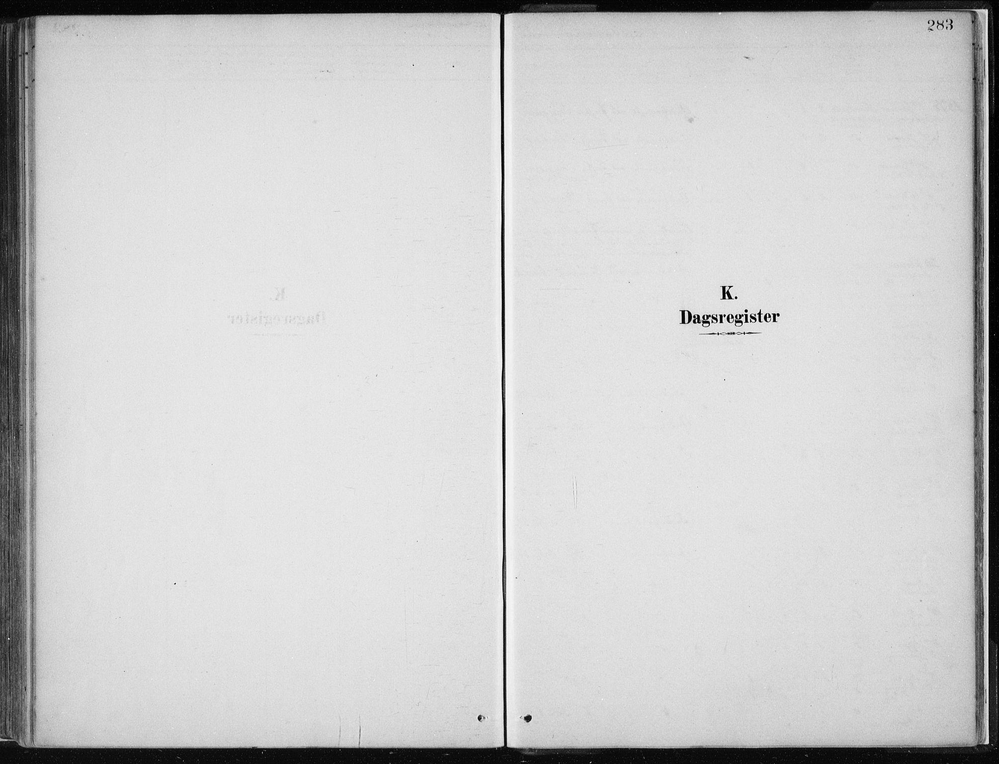 SAB, Masfjorden Soknepresembete, Parish register (official) no. B  1, 1876-1899, p. 283