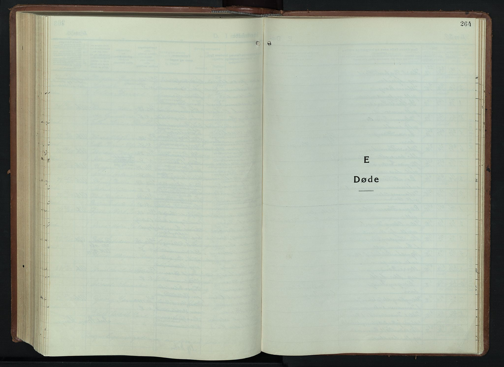 SAH, Lillehammer prestekontor, H/Ha/Hab/L0003: Parish register (copy) no. 3, 1927-1943, p. 264