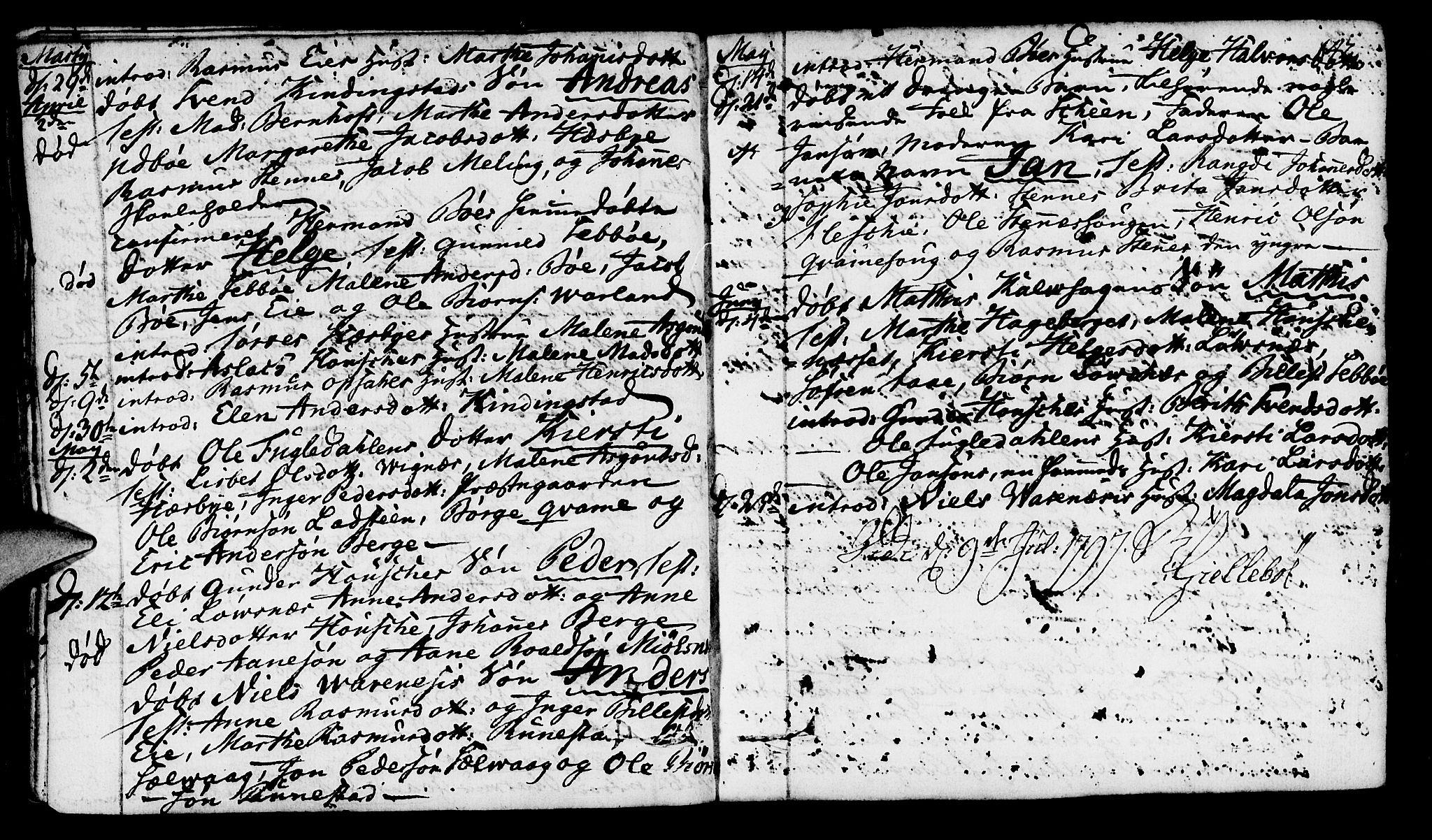 SAST, Finnøy sokneprestkontor, H/Ha/Haa/L0005: Parish register (official) no. A 5, 1773-1816, p. 142