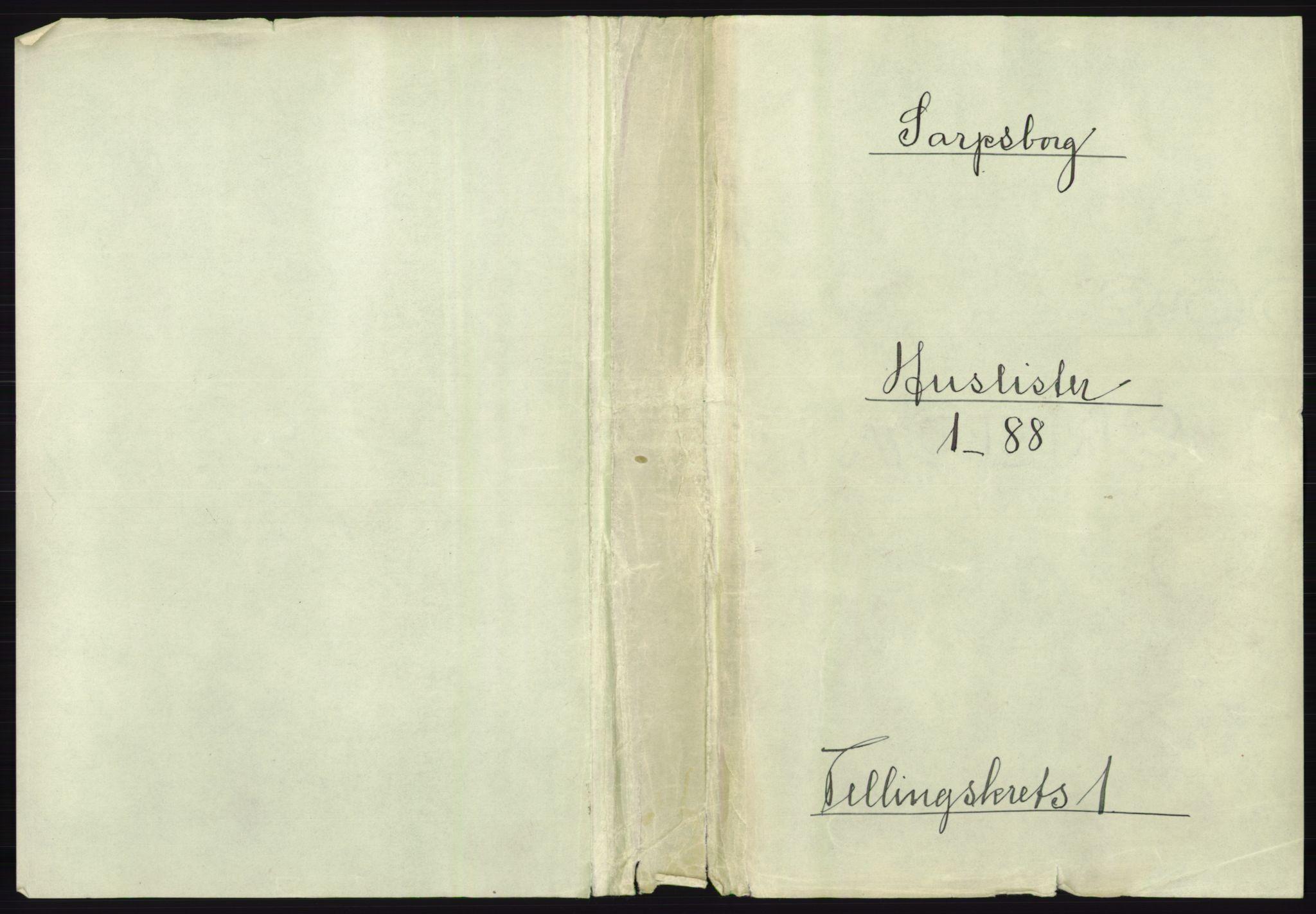 RA, 1891 census for 0102 Sarpsborg, 1891, p. 15