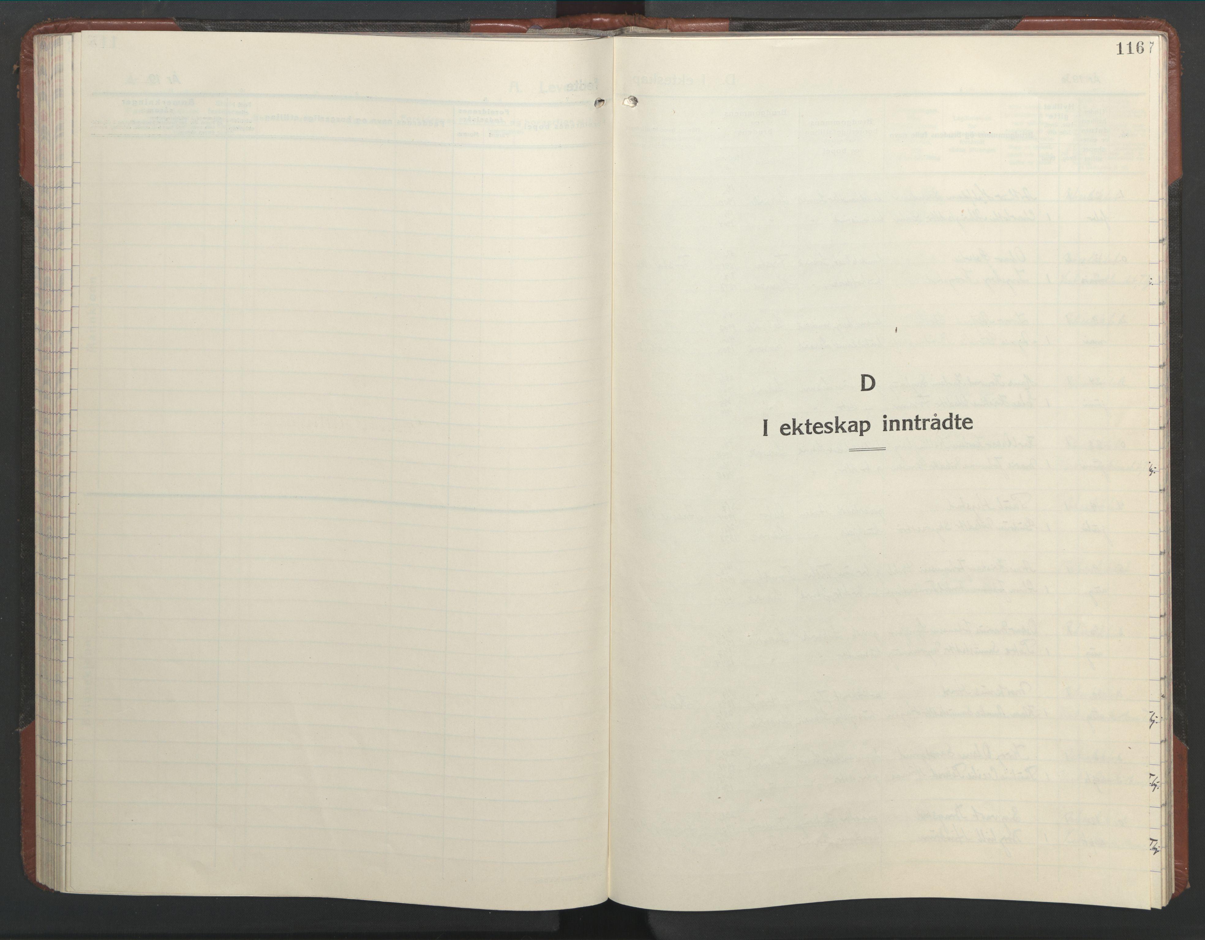 SAT, Ministerialprotokoller, klokkerbøker og fødselsregistre - Nord-Trøndelag, 701/L0019: Parish register (copy) no. 701C03, 1930-1953, p. 116
