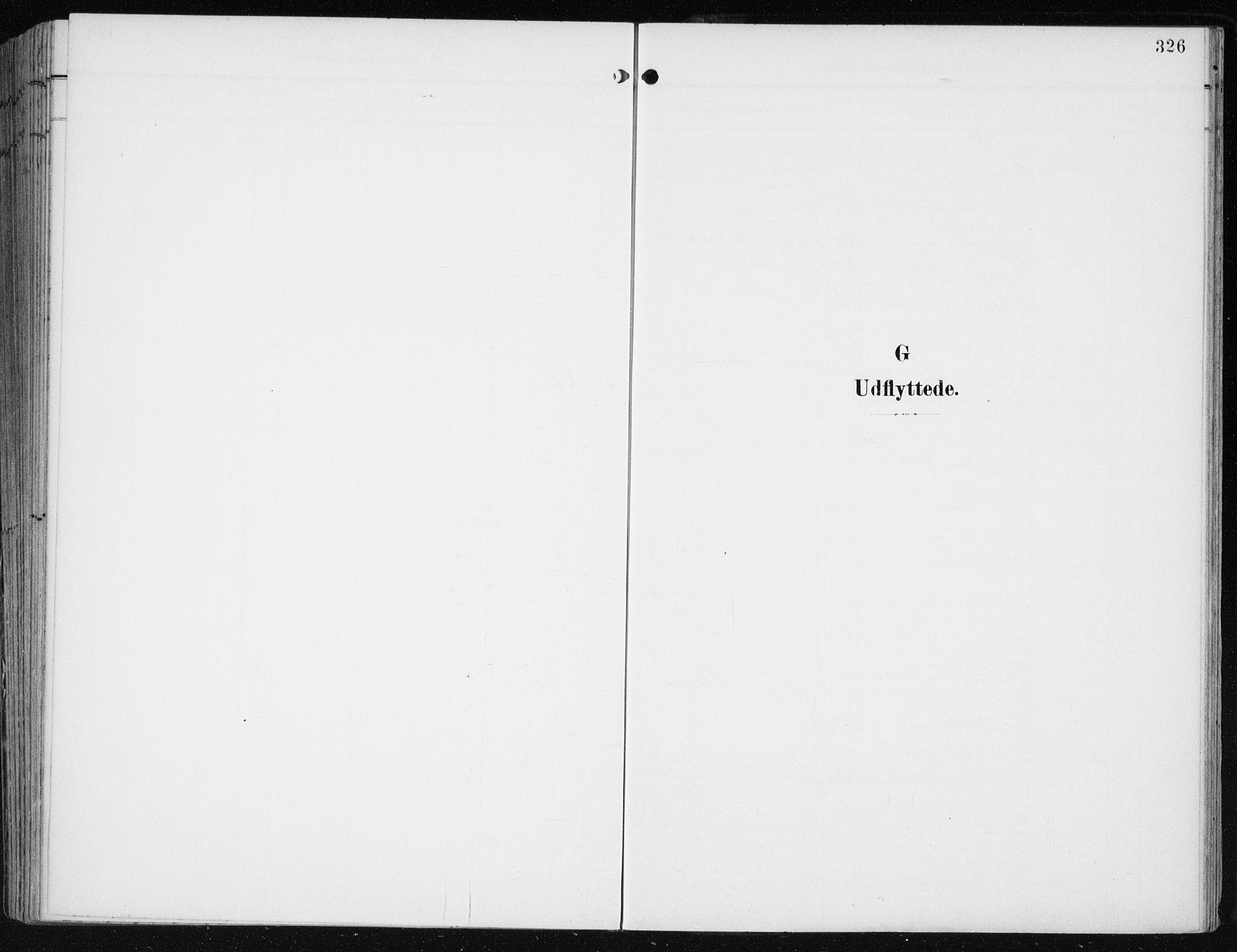 SAB, Evanger sokneprestembete*, Parish register (official) no. A  3, 1900-1930, p. 326