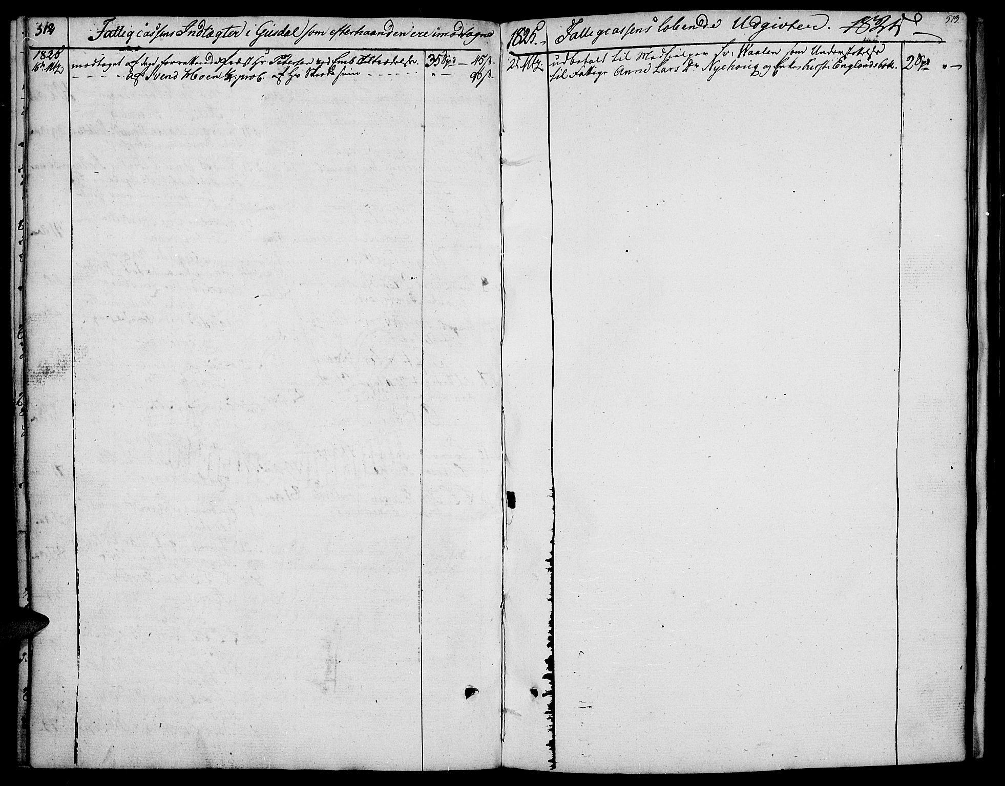 SAH, Gausdal prestekontor, Parish register (official) no. 4, 1809-1817, p. 512-513