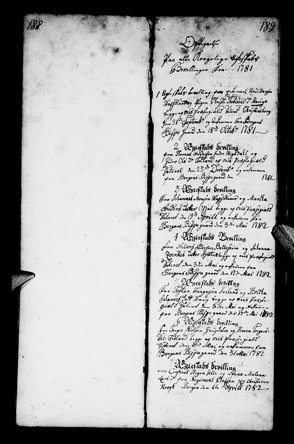 SAB, Os sokneprestembete*, Parish register (official) no. A 13, 1783-1810, p. 189