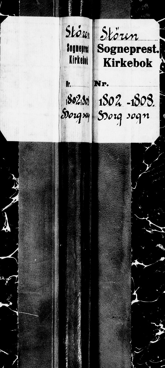 SAT, Ministerialprotokoller, klokkerbøker og fødselsregistre - Sør-Trøndelag, 692/L1106: Parish register (copy) no. 692C01, 1802-1808