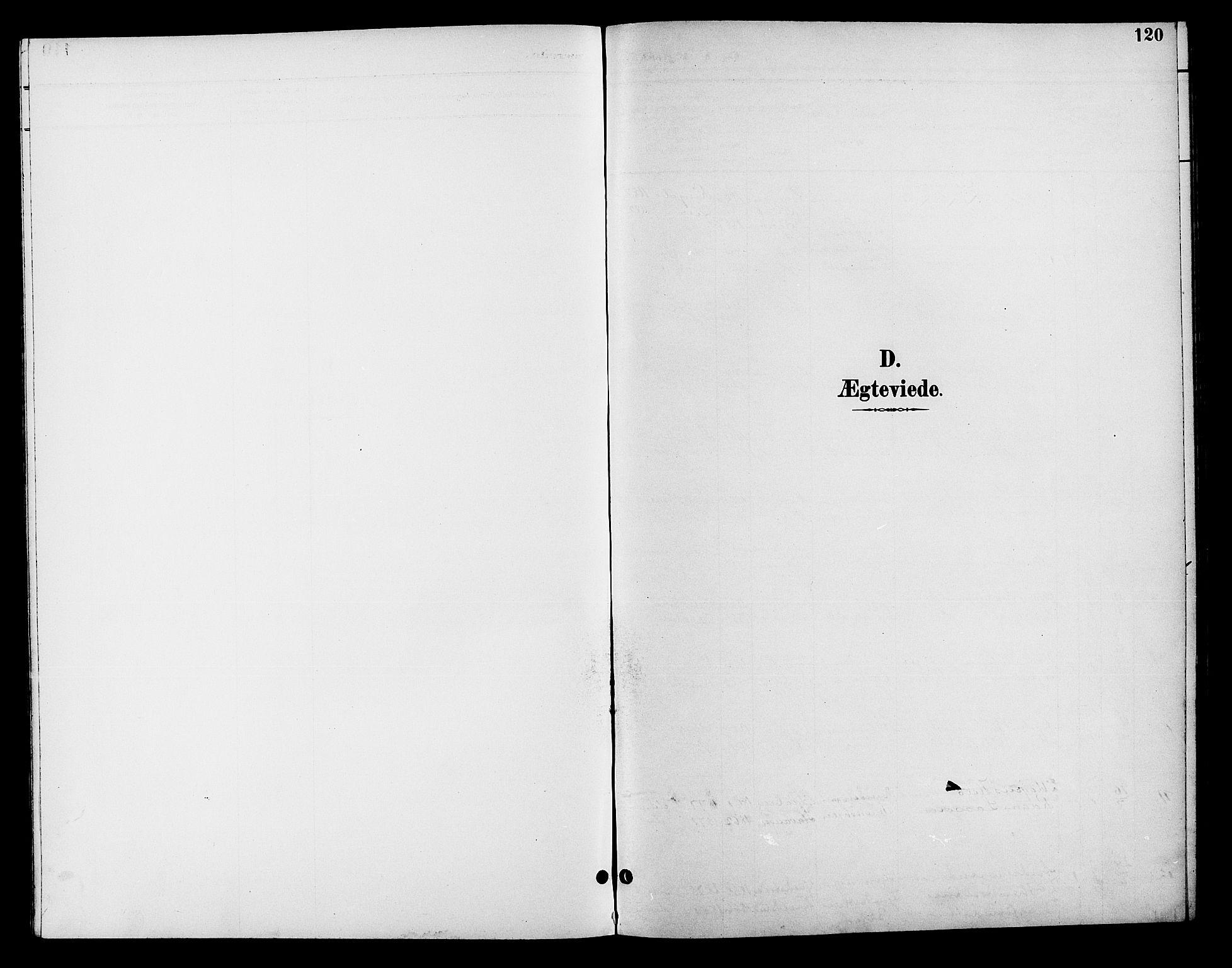 SAH, Fåberg prestekontor, H/Ha/Hab/L0008: Parish register (copy) no. 8, 1891-1900, p. 120