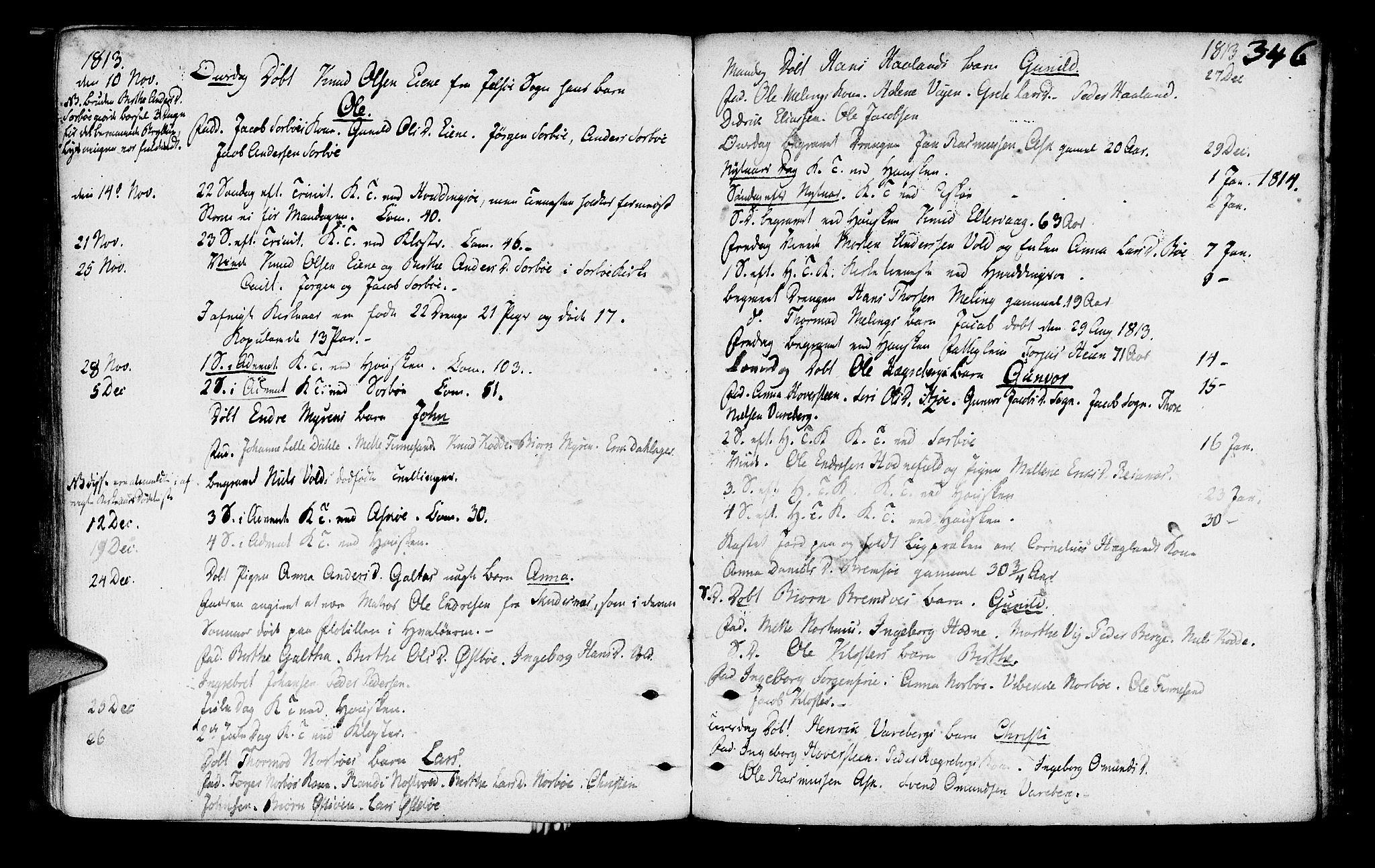 SAST, Rennesøy sokneprestkontor, H/Ha/Haa/L0003: Parish register (official) no. A 3, 1772-1815, p. 346