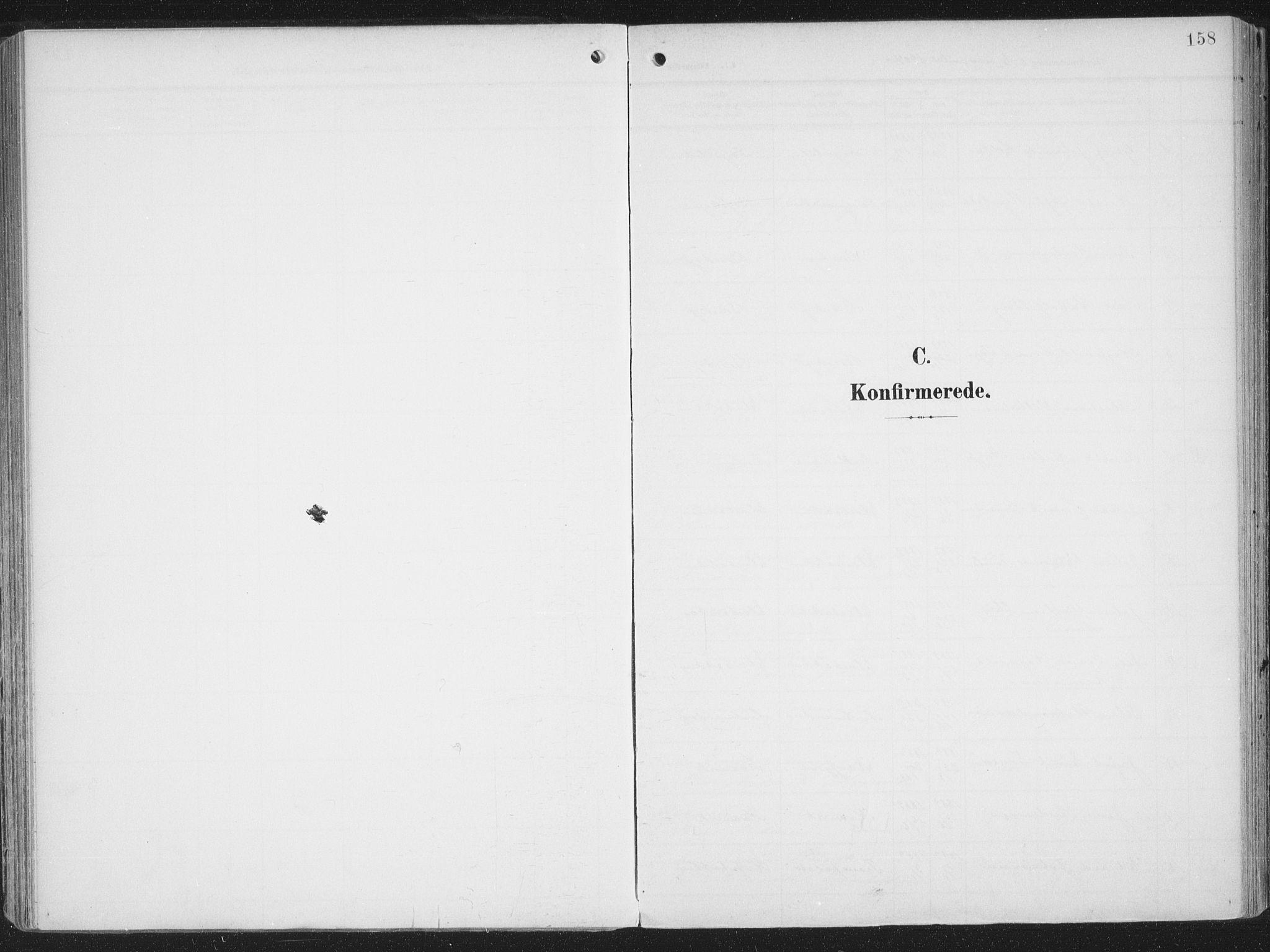 SATØ, Alta sokneprestkontor, H/Ha/L0005.kirke: Parish register (official) no. 5, 1904-1918, p. 158