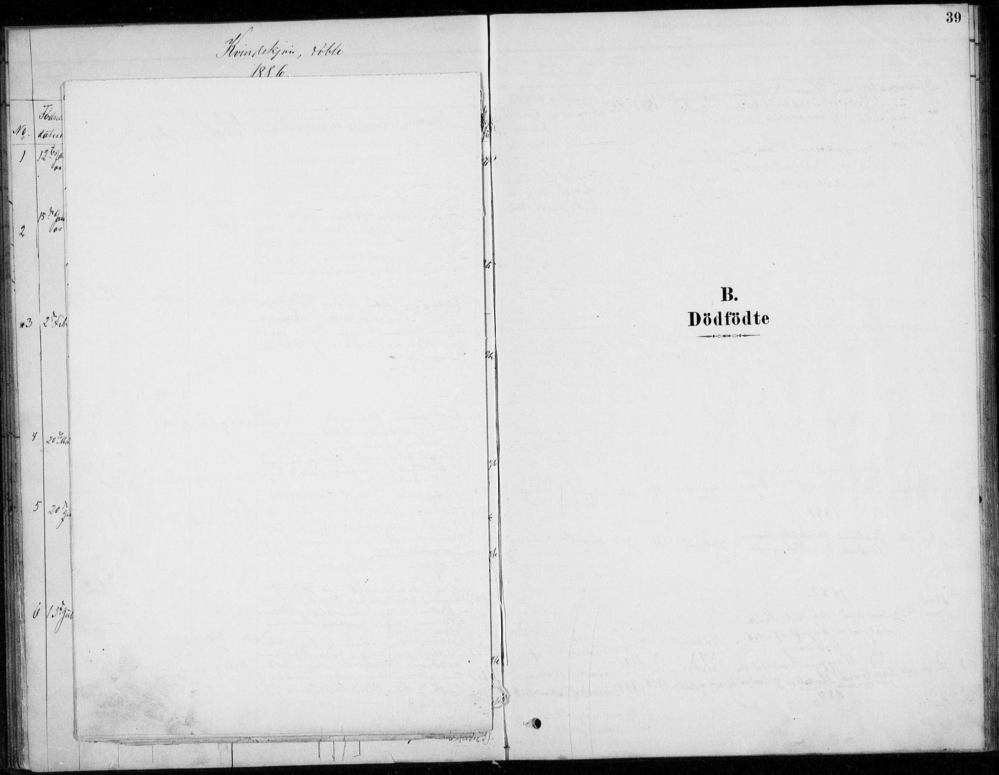 SAO, Fet prestekontor Kirkebøker, G/Gb/L0002: Parish register (copy) no. II 2, 1878-1911, p. 39