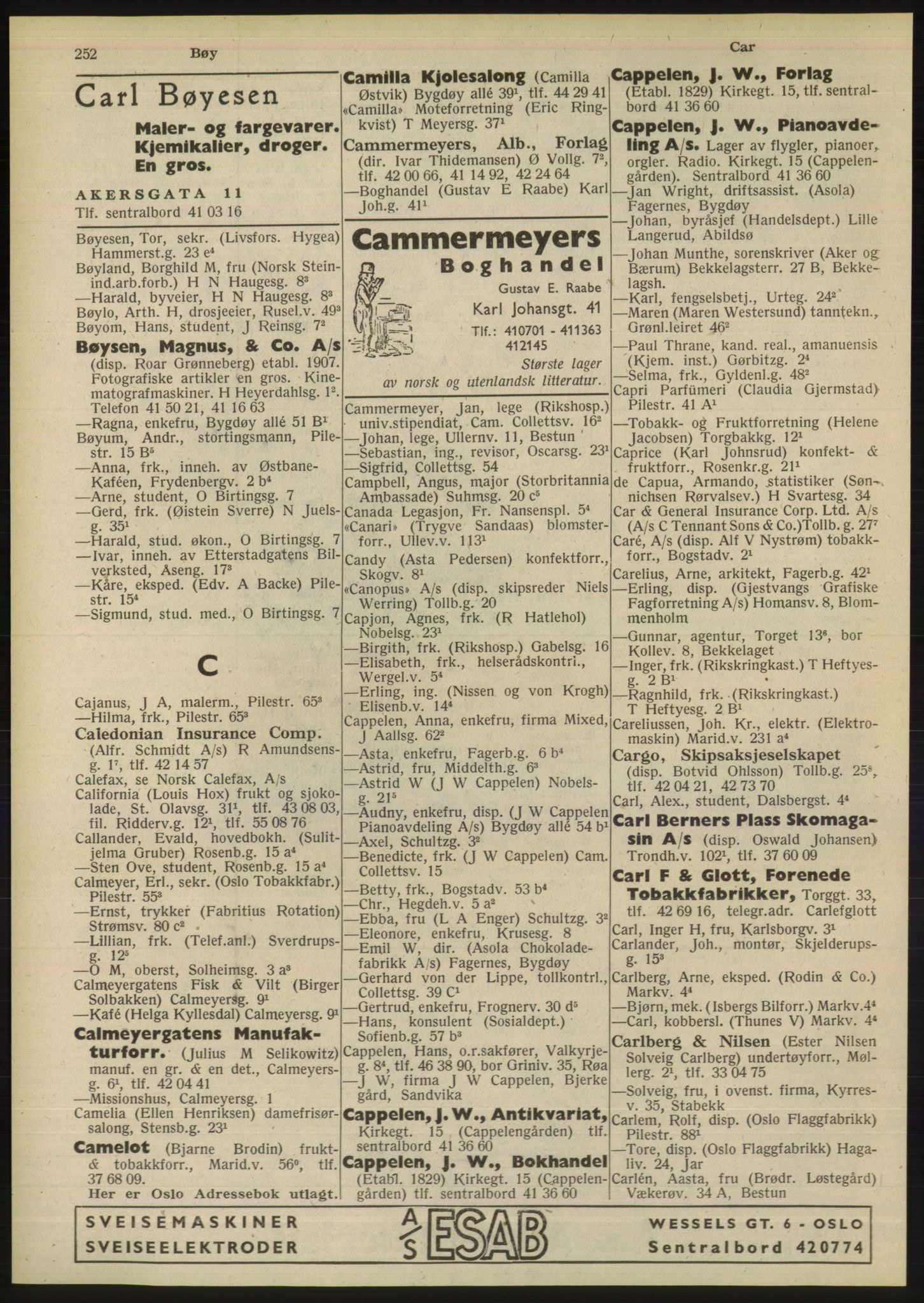 PUBL, Kristiania/Oslo adressebok, 1948, p. 252