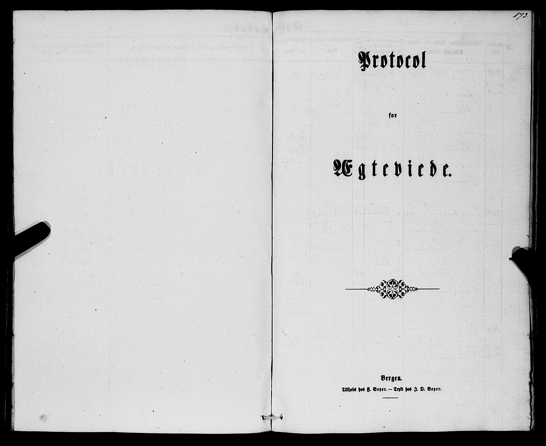 SAB, Eid Sokneprestembete, H/Haa: Parish register (official) no. A 8, 1858-1860, p. 173