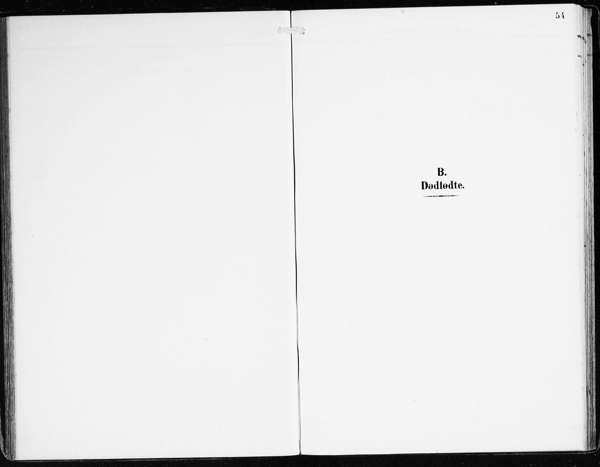 SAB, Bremanger Sokneprestembete, H/Haa: Parish register (official) no. B 3, 1908-1925, p. 54