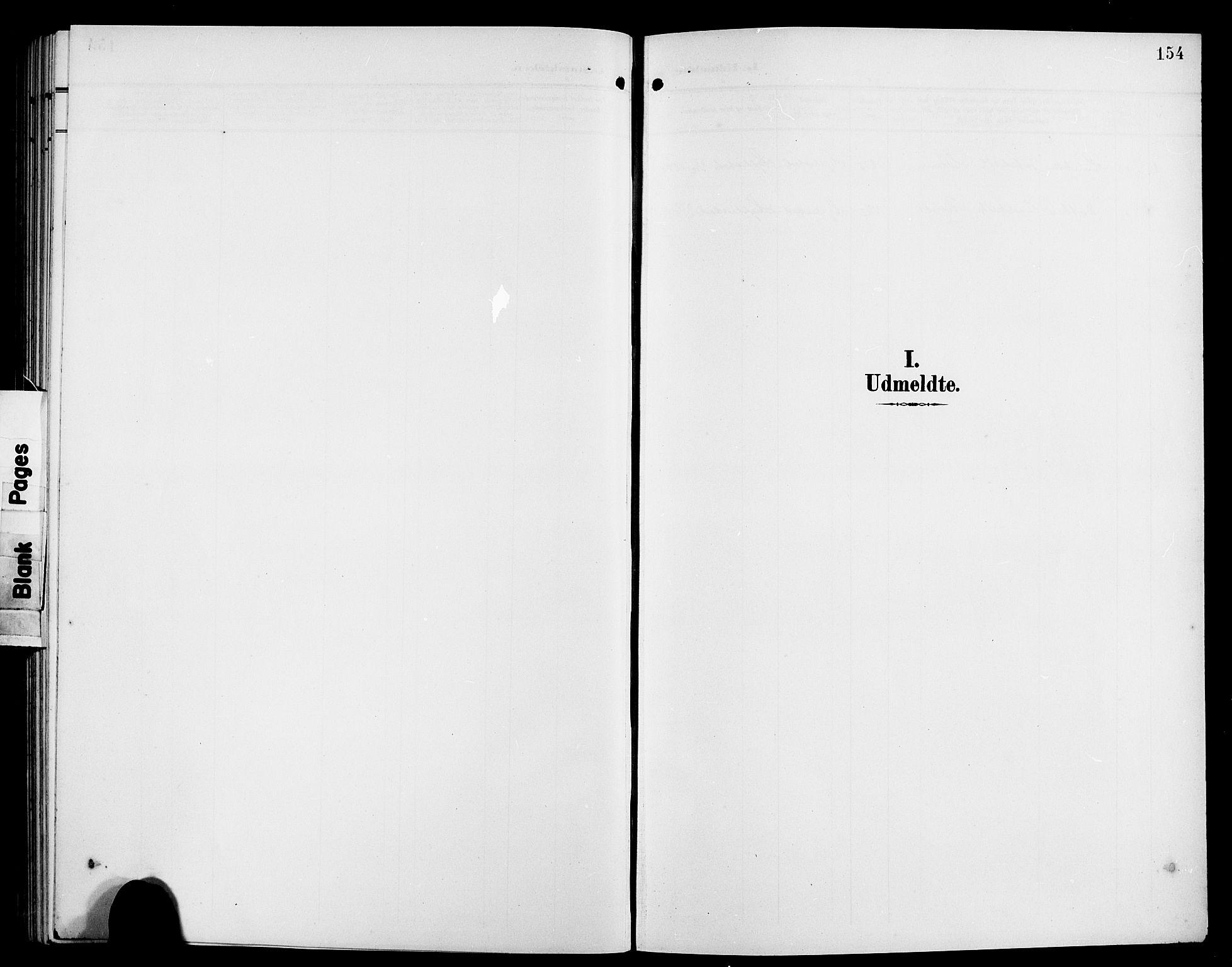 SAB, Hyllestad Sokneprestembete, Parish register (copy) no. A 3, 1906-1925, p. 154