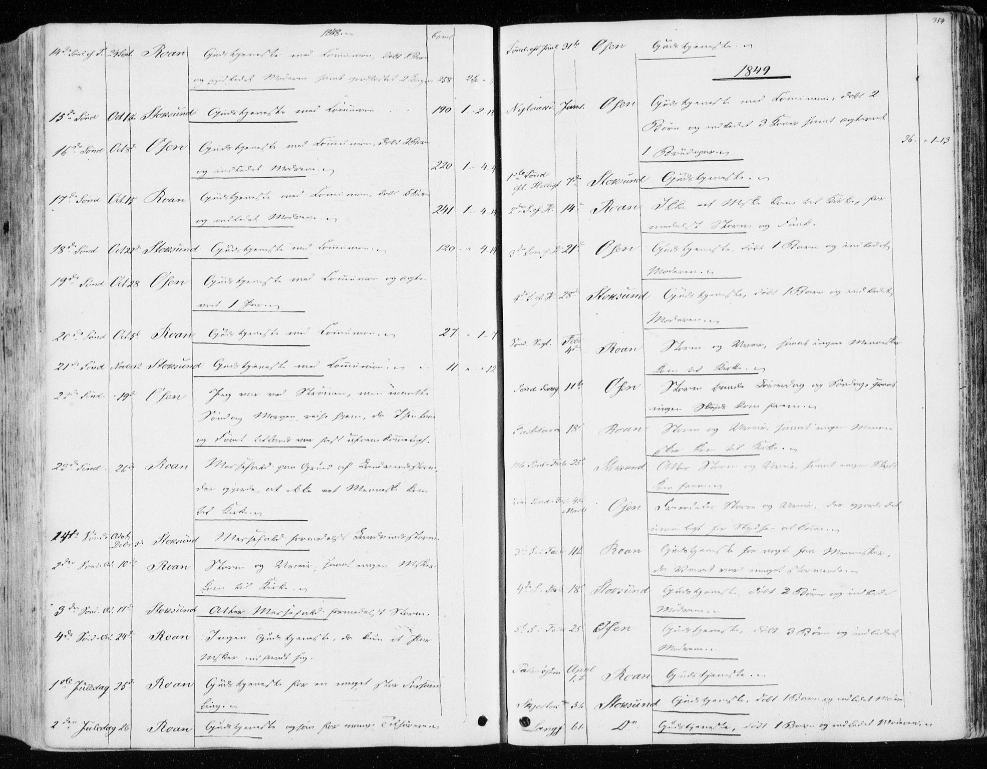 SAT, Ministerialprotokoller, klokkerbøker og fødselsregistre - Sør-Trøndelag, 657/L0704: Parish register (official) no. 657A05, 1846-1857, p. 354