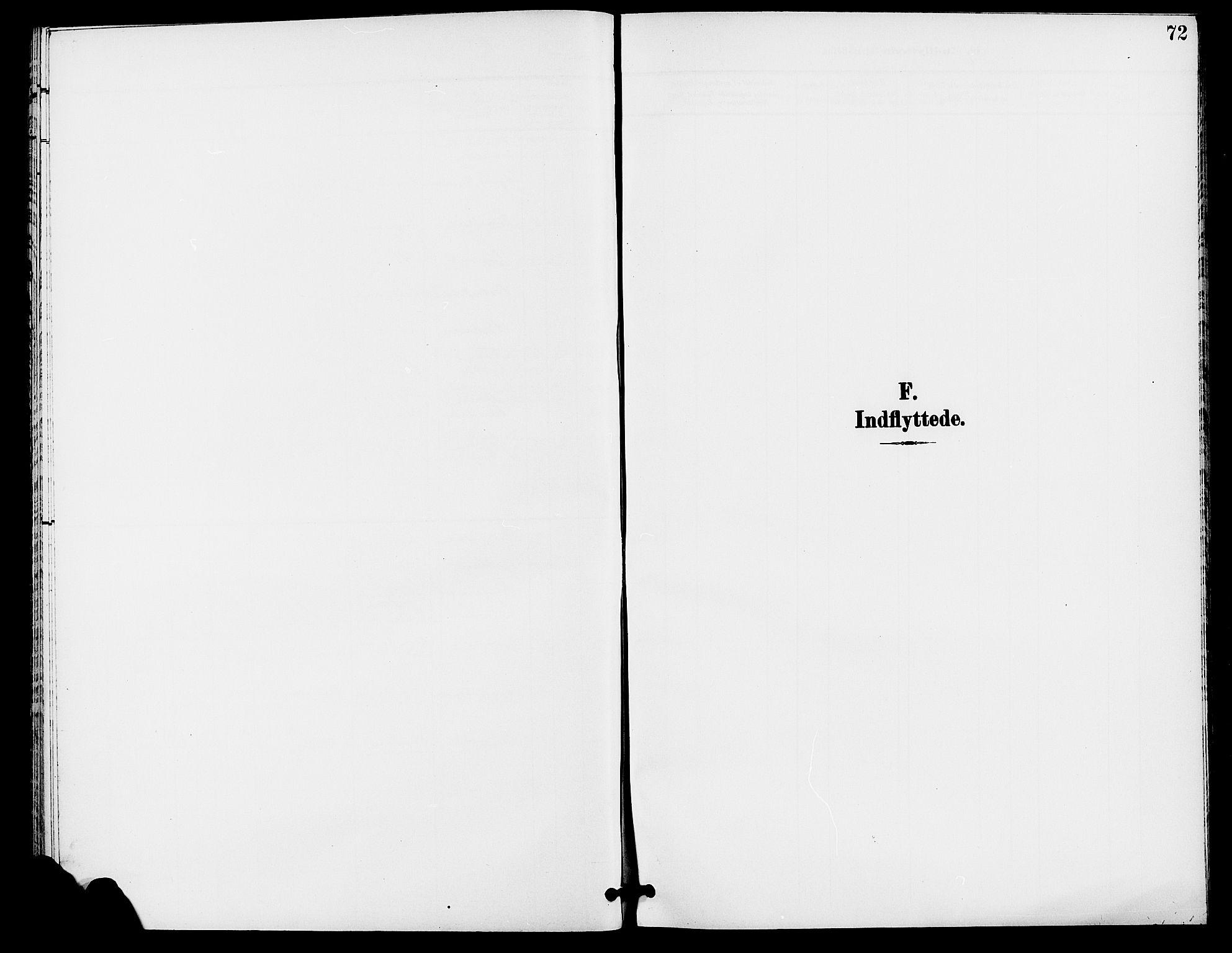 SAH, Rendalen prestekontor, H/Ha/Haa/L0008: Parish register (official) no. 8, 1898-1910, p. 72